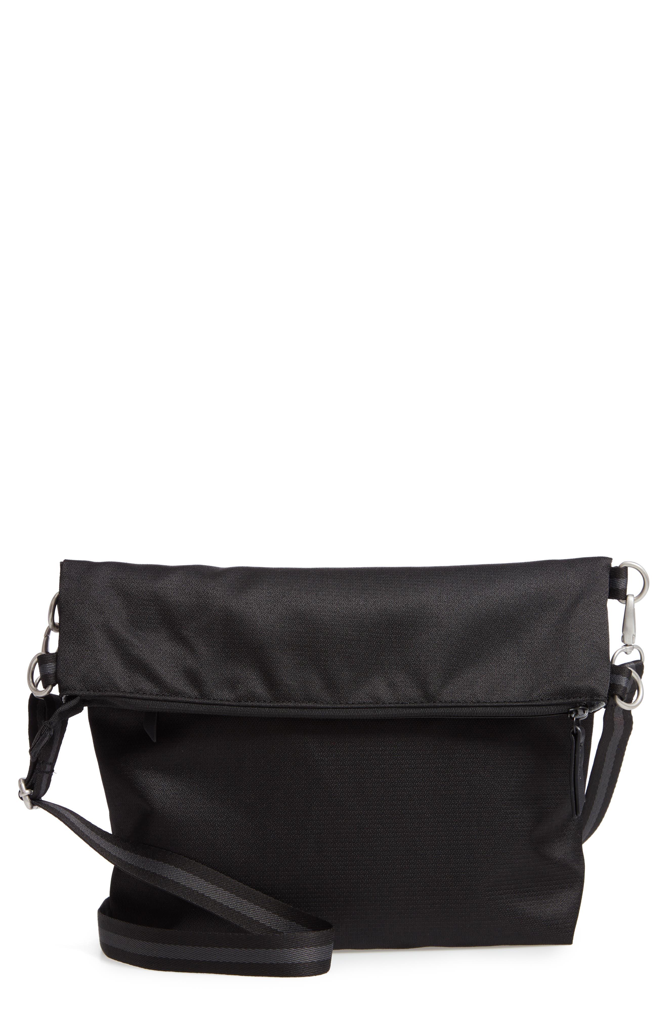 Vale RFID Crossbody Bag,                             Main thumbnail 1, color,                             BLACK/ BLACK