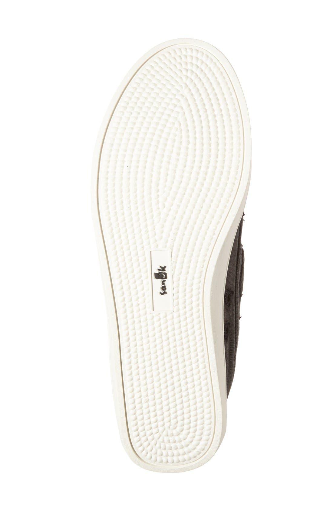 'Vee K Shawn' High Top Sneaker,                             Alternate thumbnail 3, color,                             006