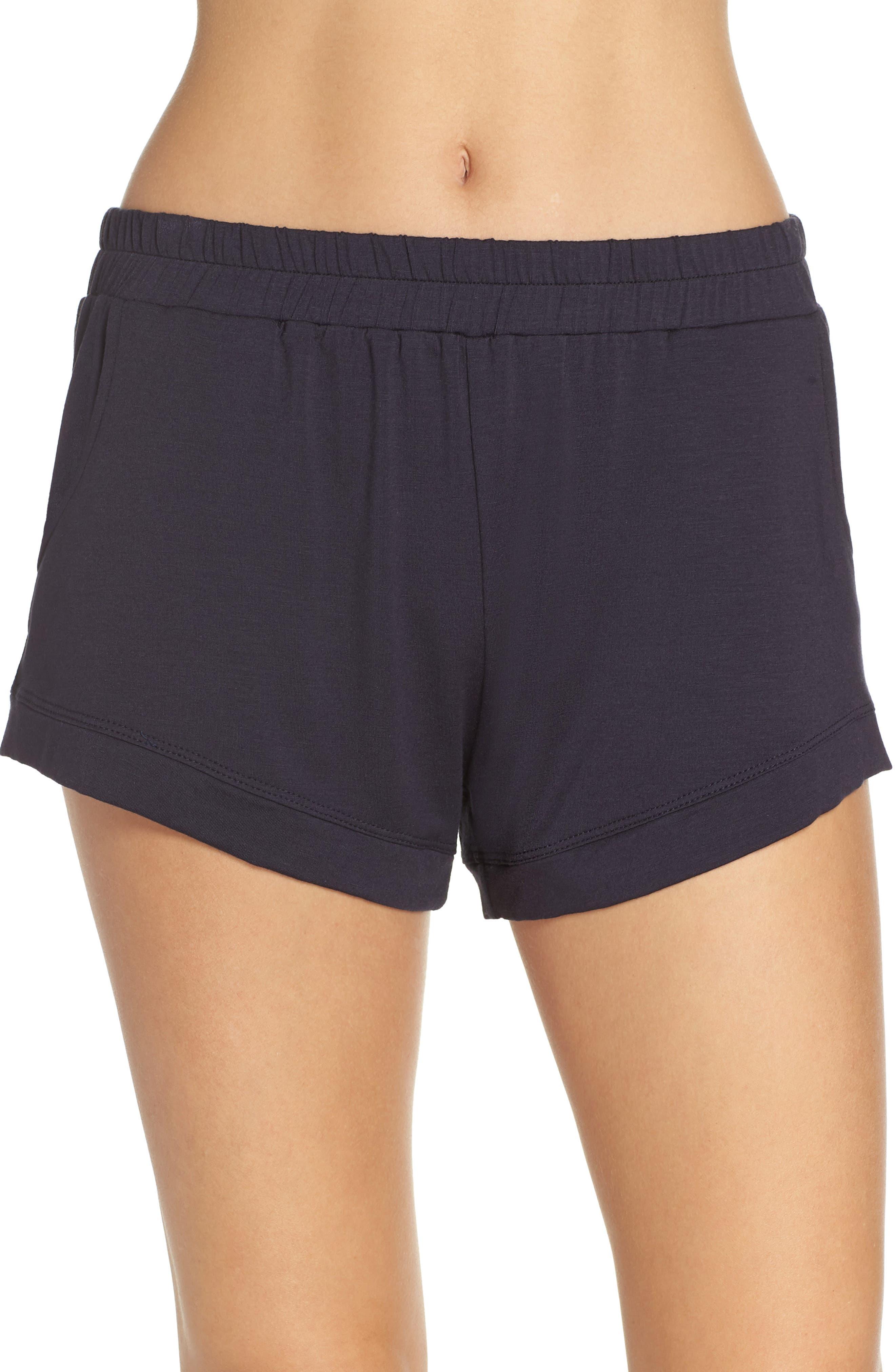 Elody Shorts,                         Main,                         color, DARK NAVY