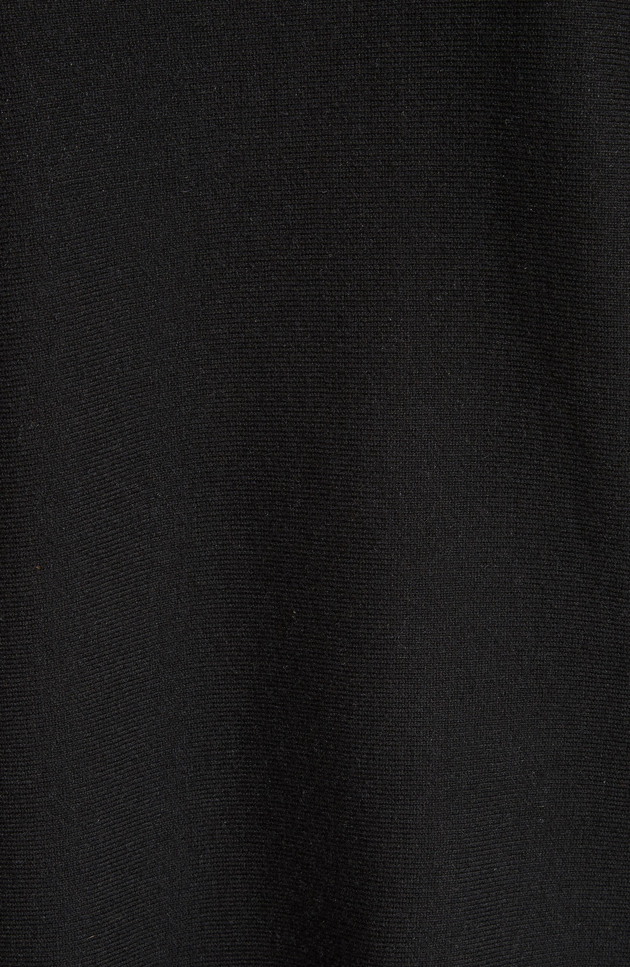 Cotton Blend Sweater,                             Alternate thumbnail 5, color,                             007