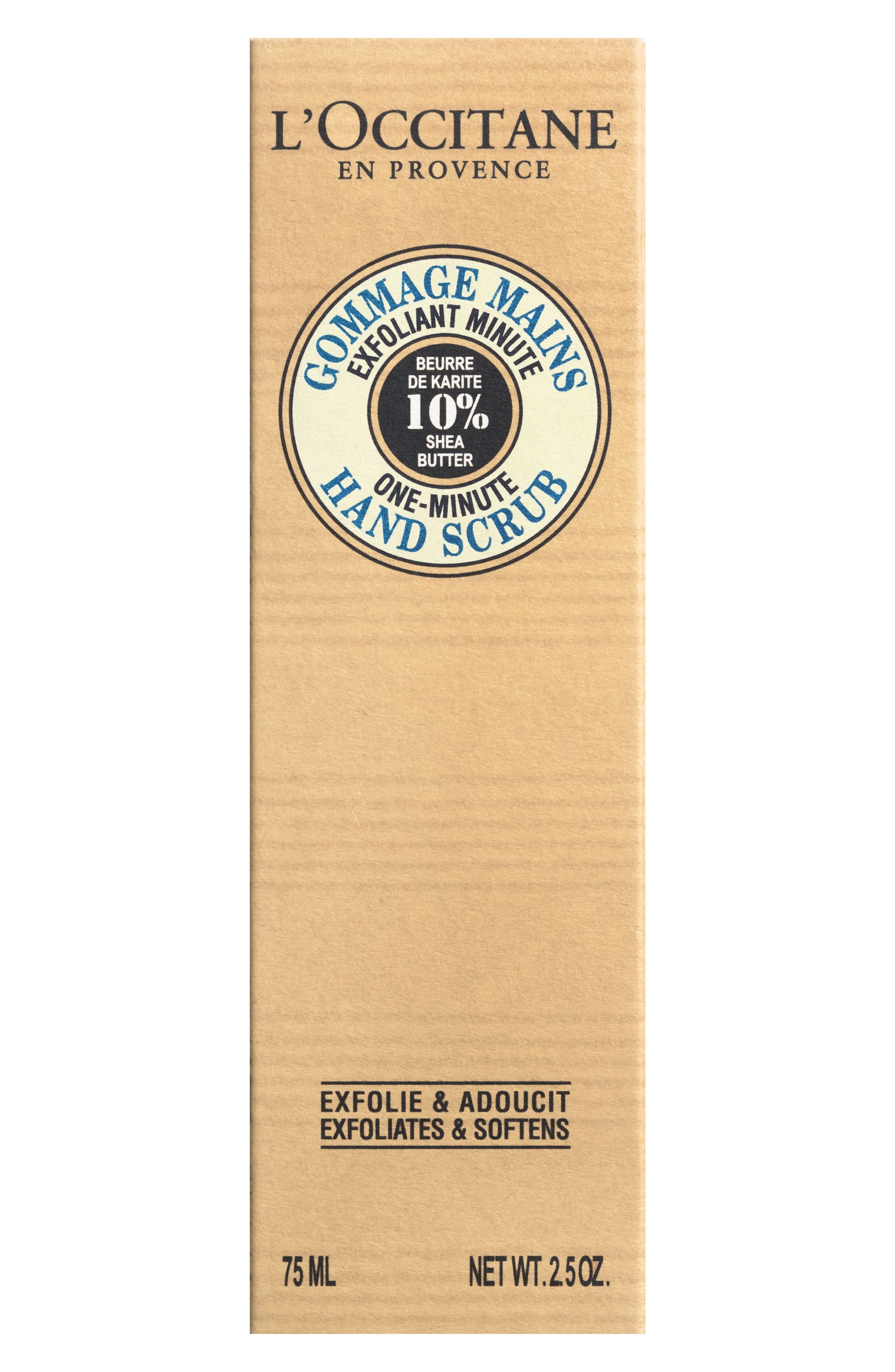 Shea Butter One Minute Hand Scrub,                         Main,                         color, NO COLOR