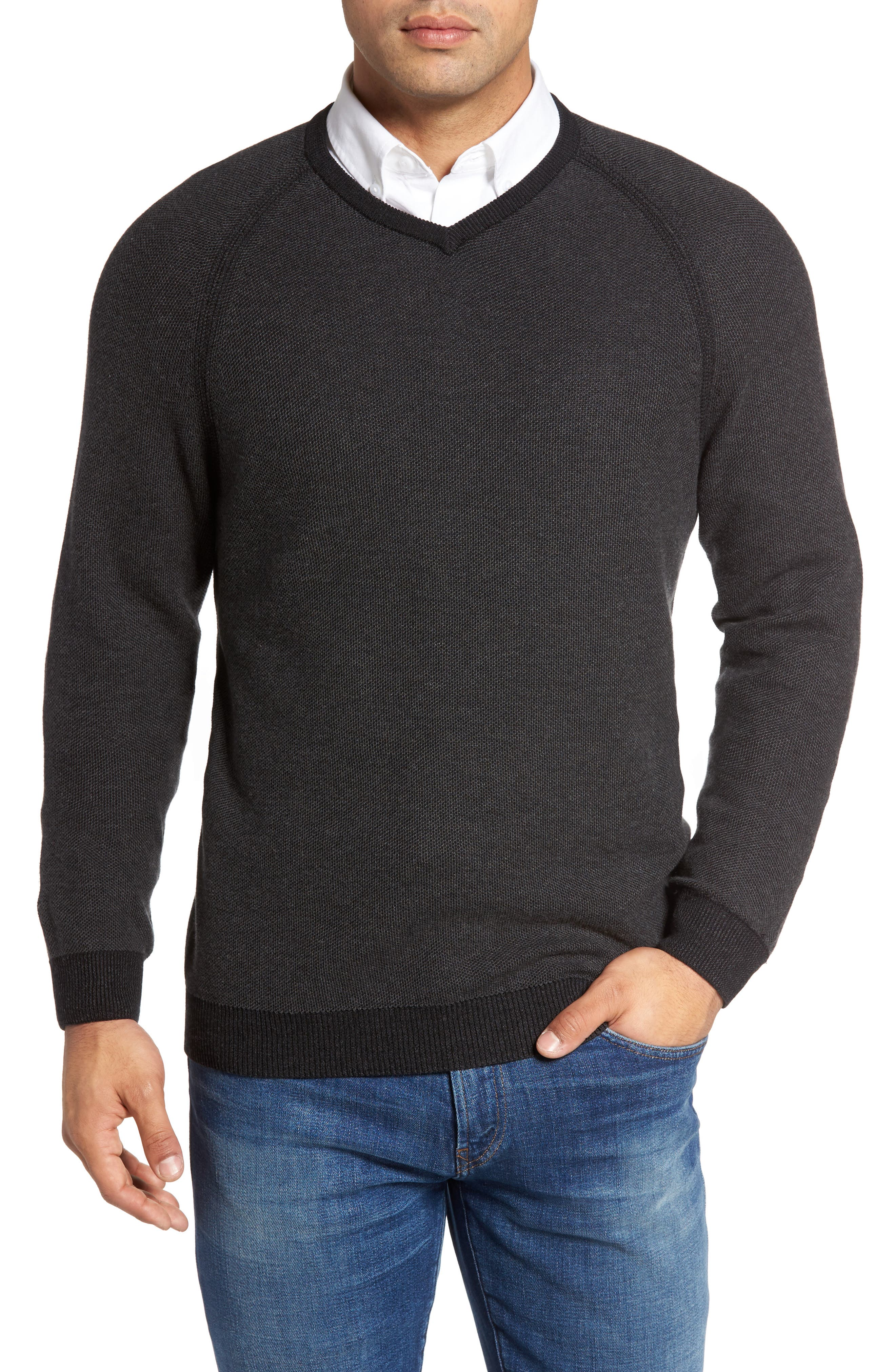 Make Mine a Double Sweater,                             Main thumbnail 1, color,                             001