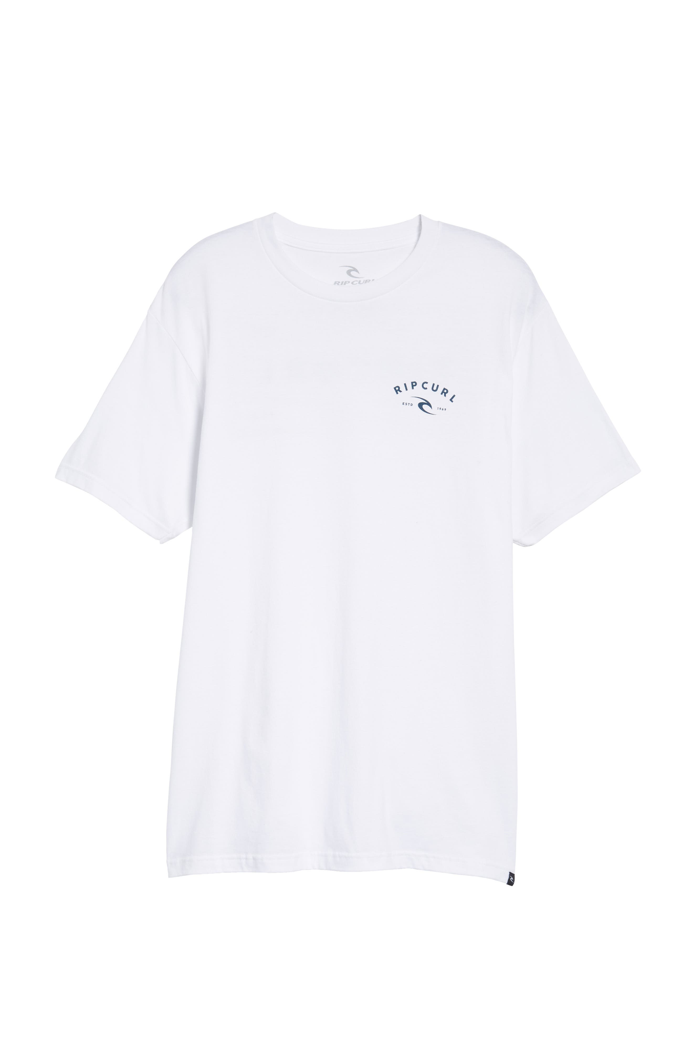 Down South Heather Logo Graphic T-Shirt,                             Alternate thumbnail 6, color,                             100