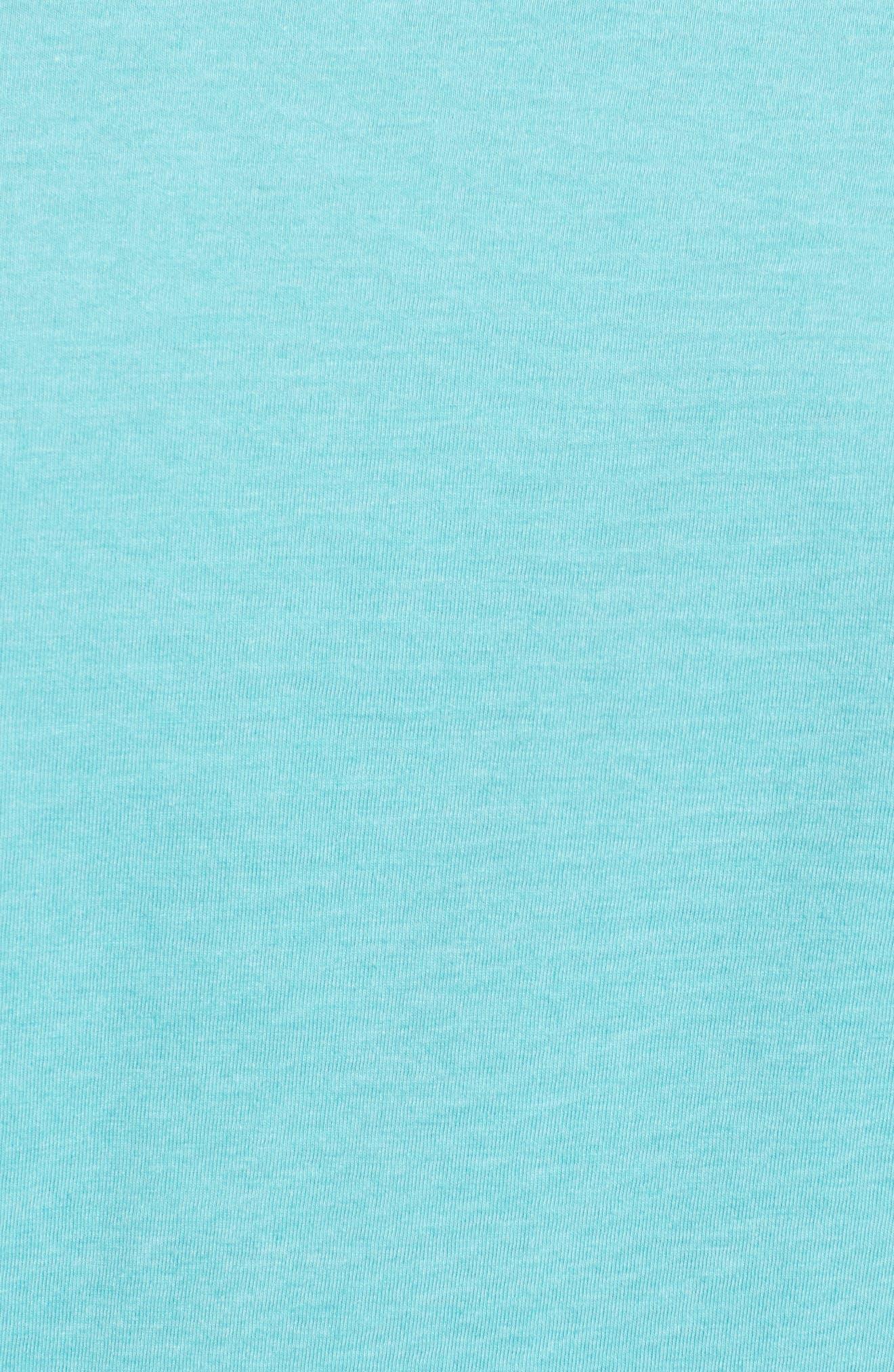 'Fitz Roy Crest' Slim Fit Organic Cotton Blend T-Shirt,                             Alternate thumbnail 33, color,
