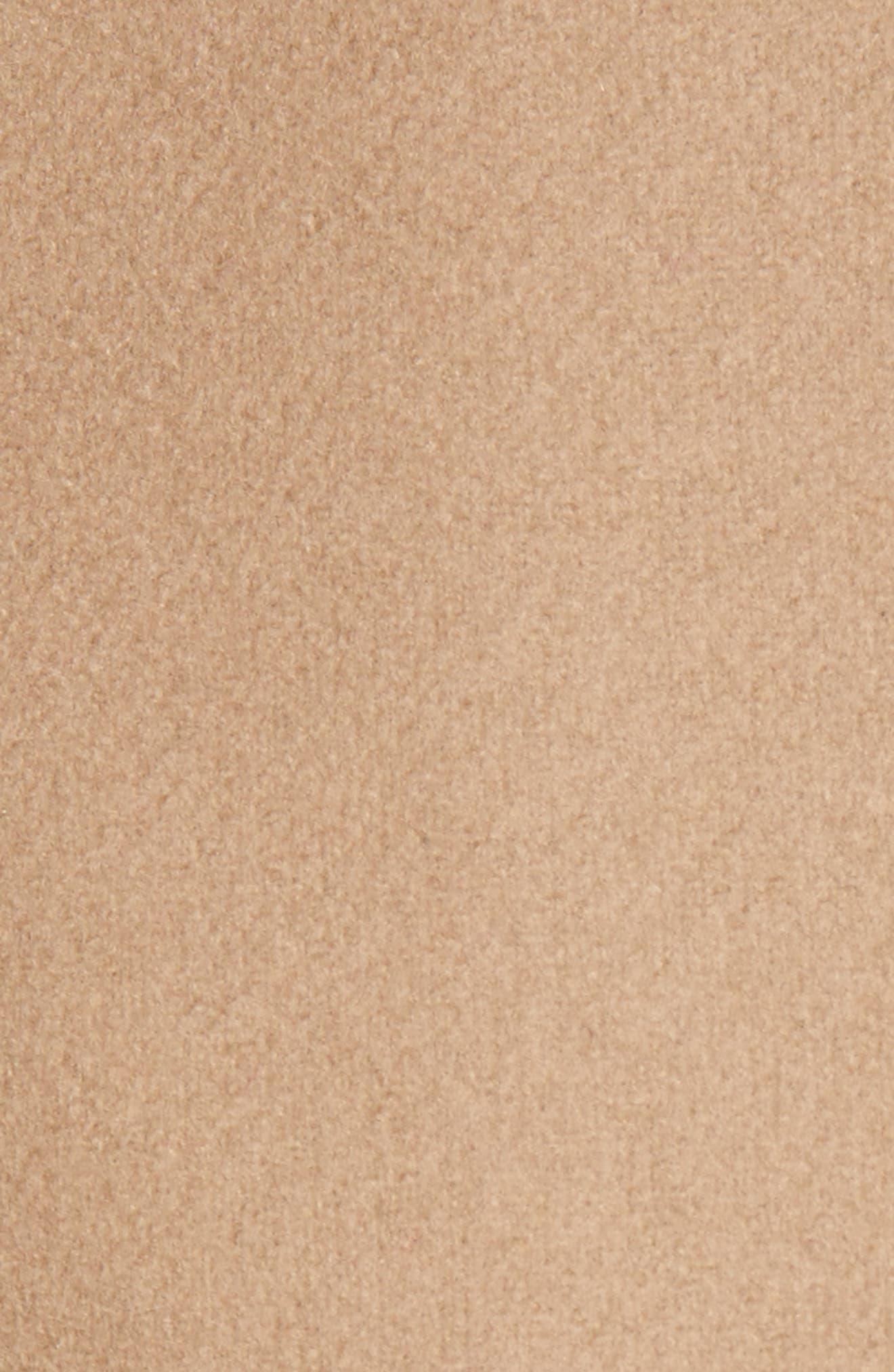 Wool Blend Short Wrap Coat,                             Alternate thumbnail 6, color,                             271