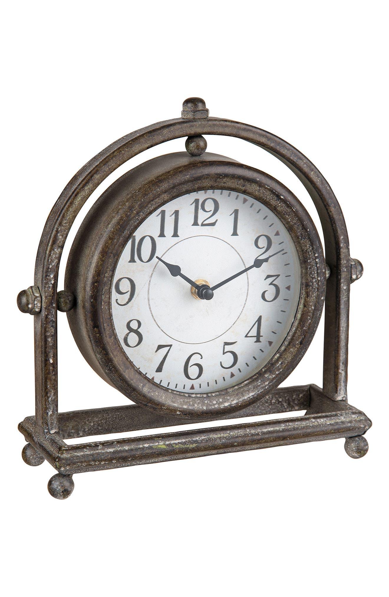 Round Table Clock,                             Main thumbnail 1, color,                             040
