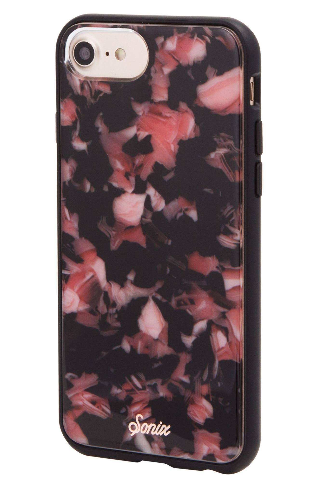 Rose Tortoise Print iPhone X Case,                             Alternate thumbnail 2, color,                             650