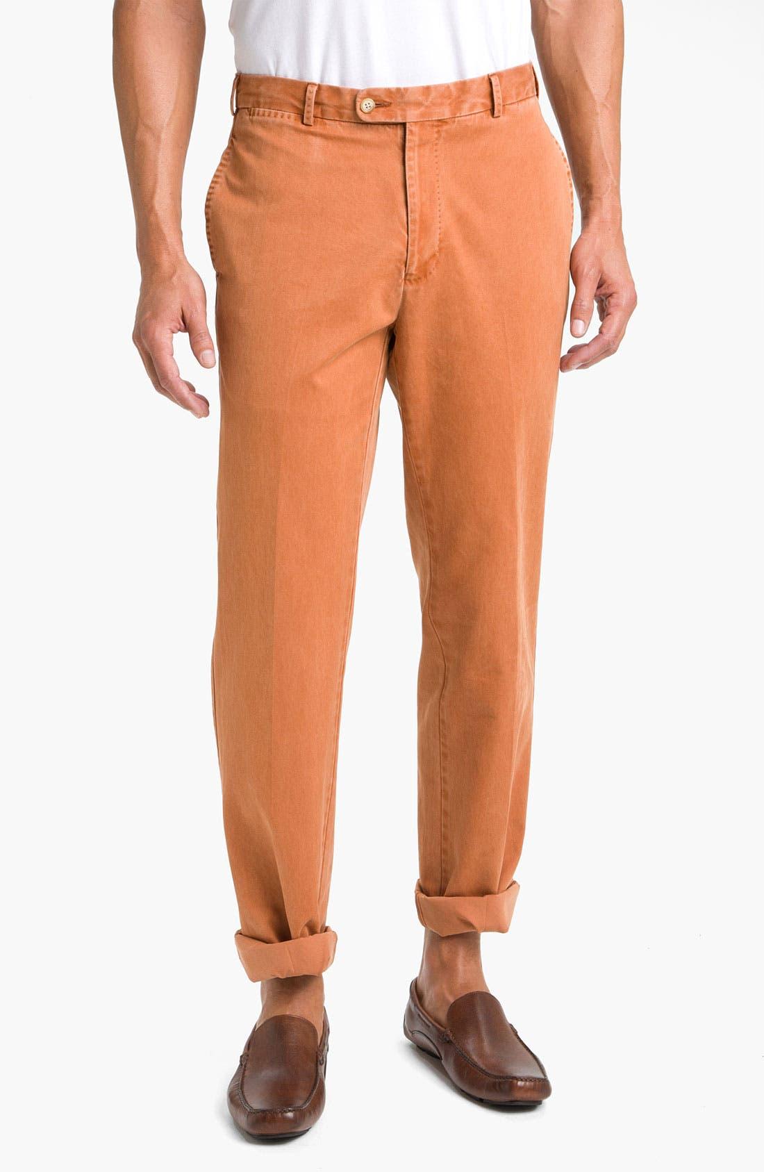 Garment Washed Twill Pants,                             Main thumbnail 18, color,