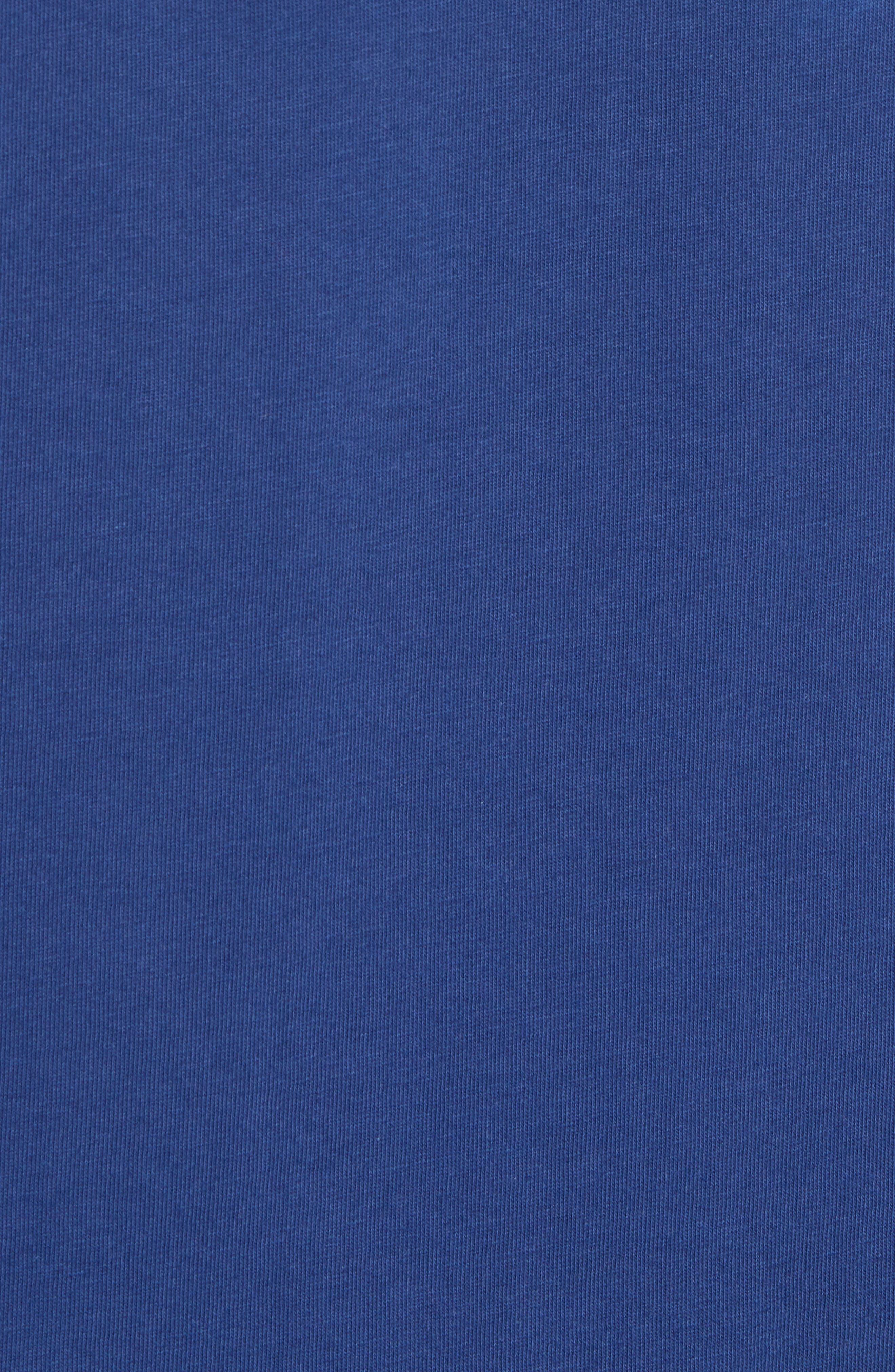 Calvin Klein Varsity T-Shirt,                             Alternate thumbnail 5, color,                             437