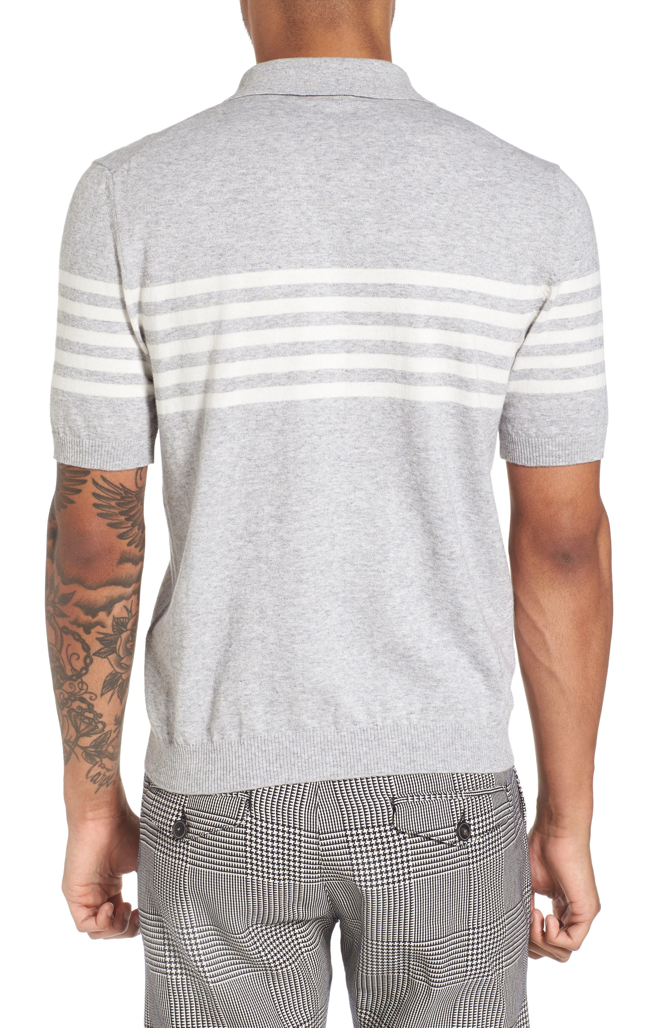 Stripe Sweater,                             Alternate thumbnail 2, color,                             020
