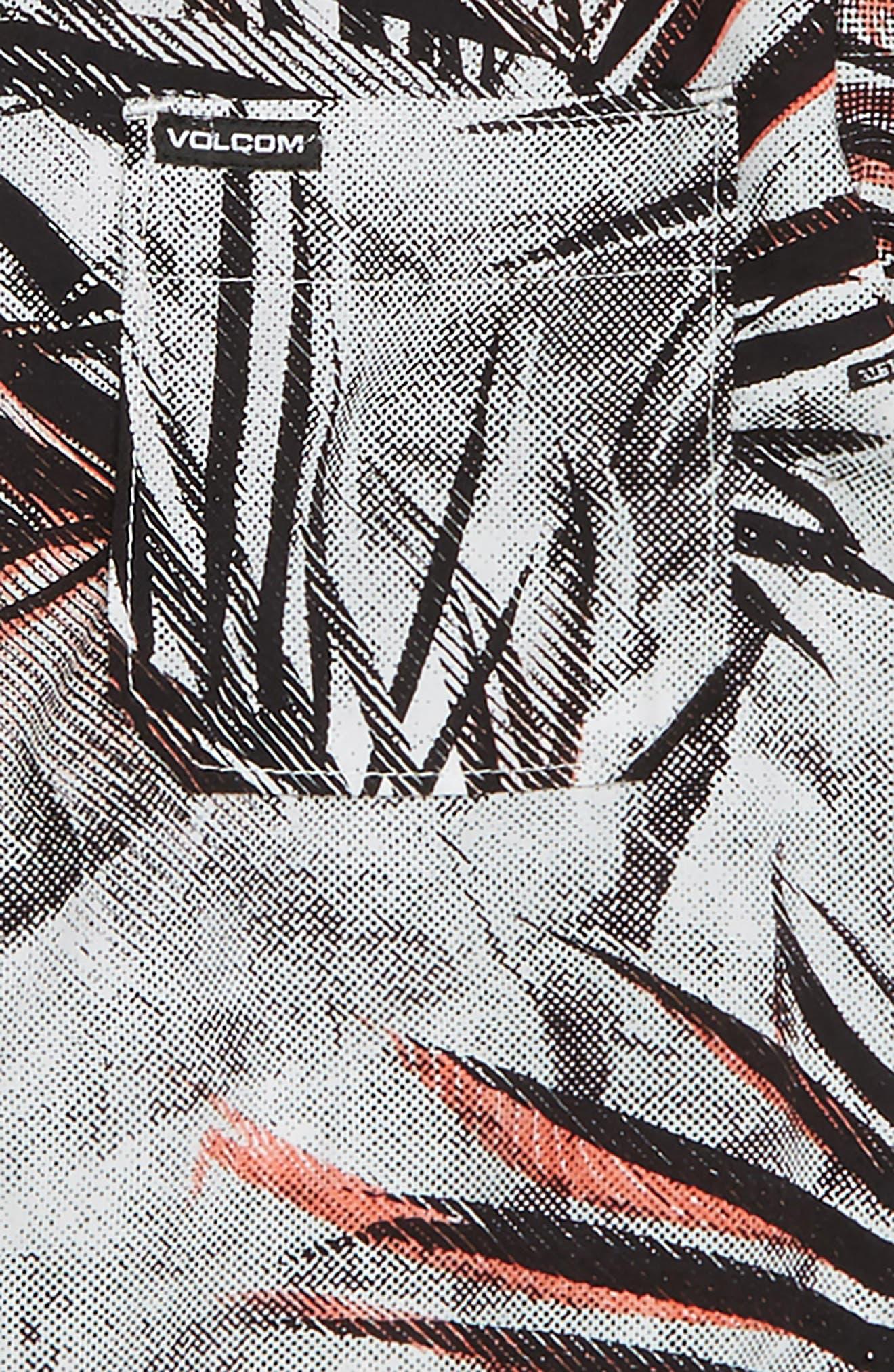 More Something Print Woven Shirt,                             Alternate thumbnail 2, color,                             100