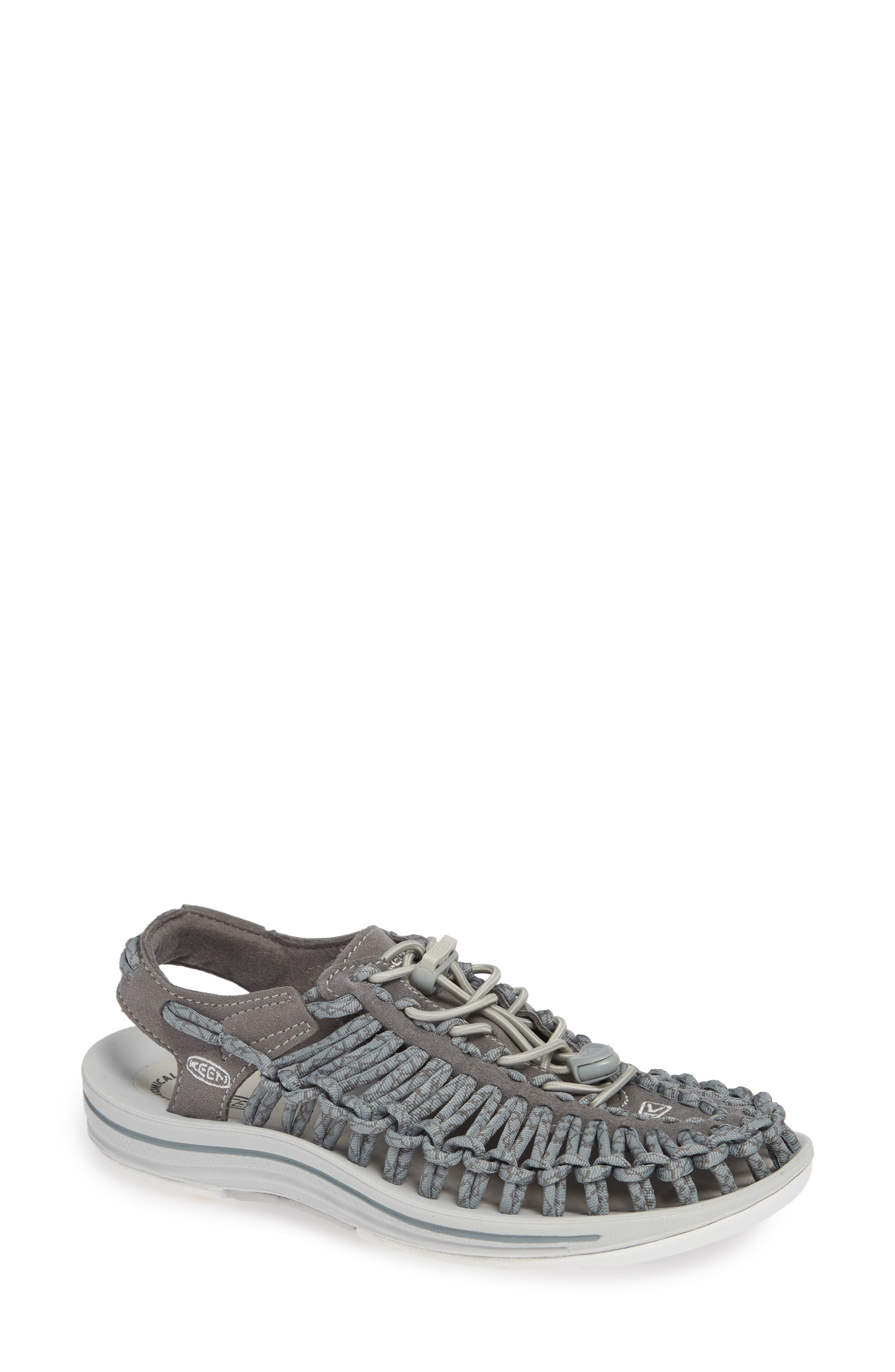 'Uneek' Water Sneaker,                             Main thumbnail 1, color,                             NEUTRAL GRAY/ GARGOYLE