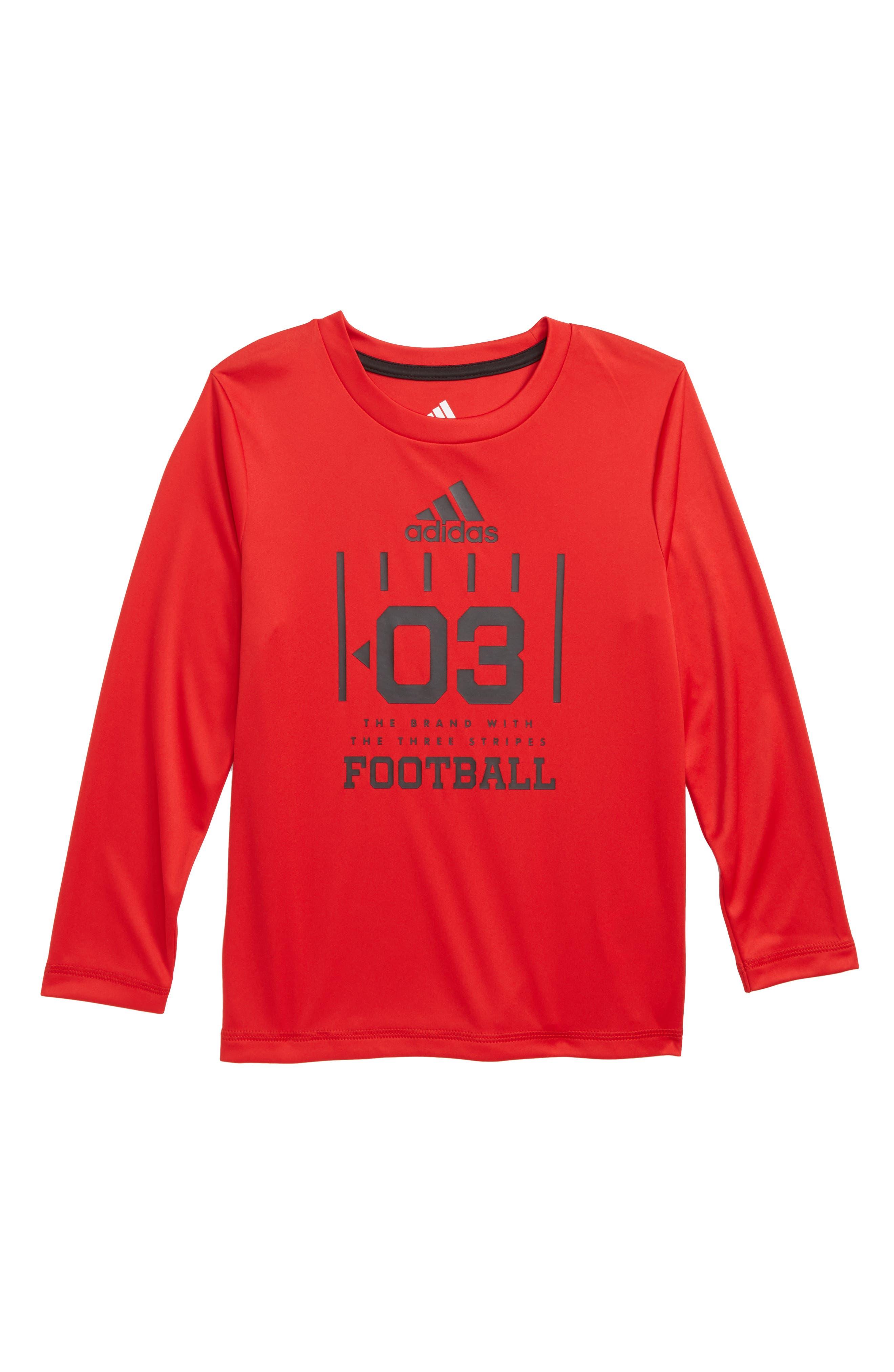 Game T-Shirt,                             Main thumbnail 1, color,                             RED