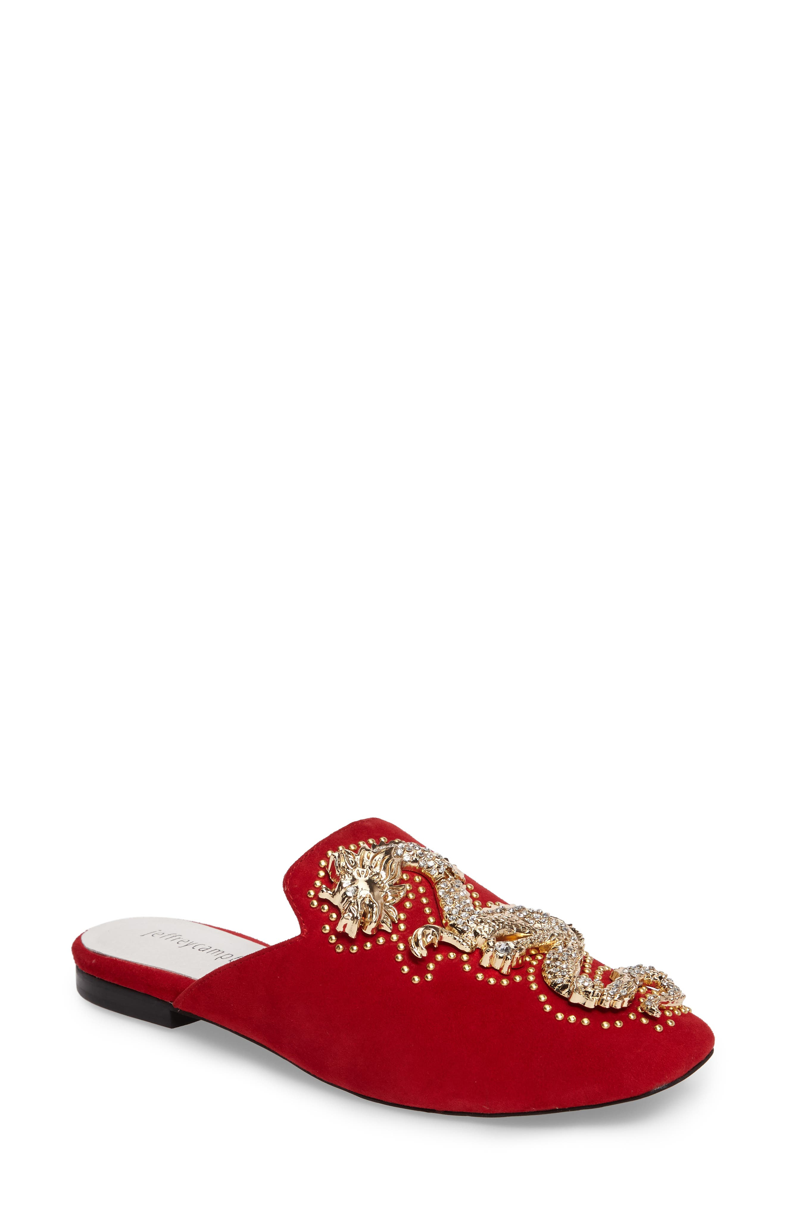 Ravis-Drag Loafer Mule,                             Main thumbnail 1, color,                             600