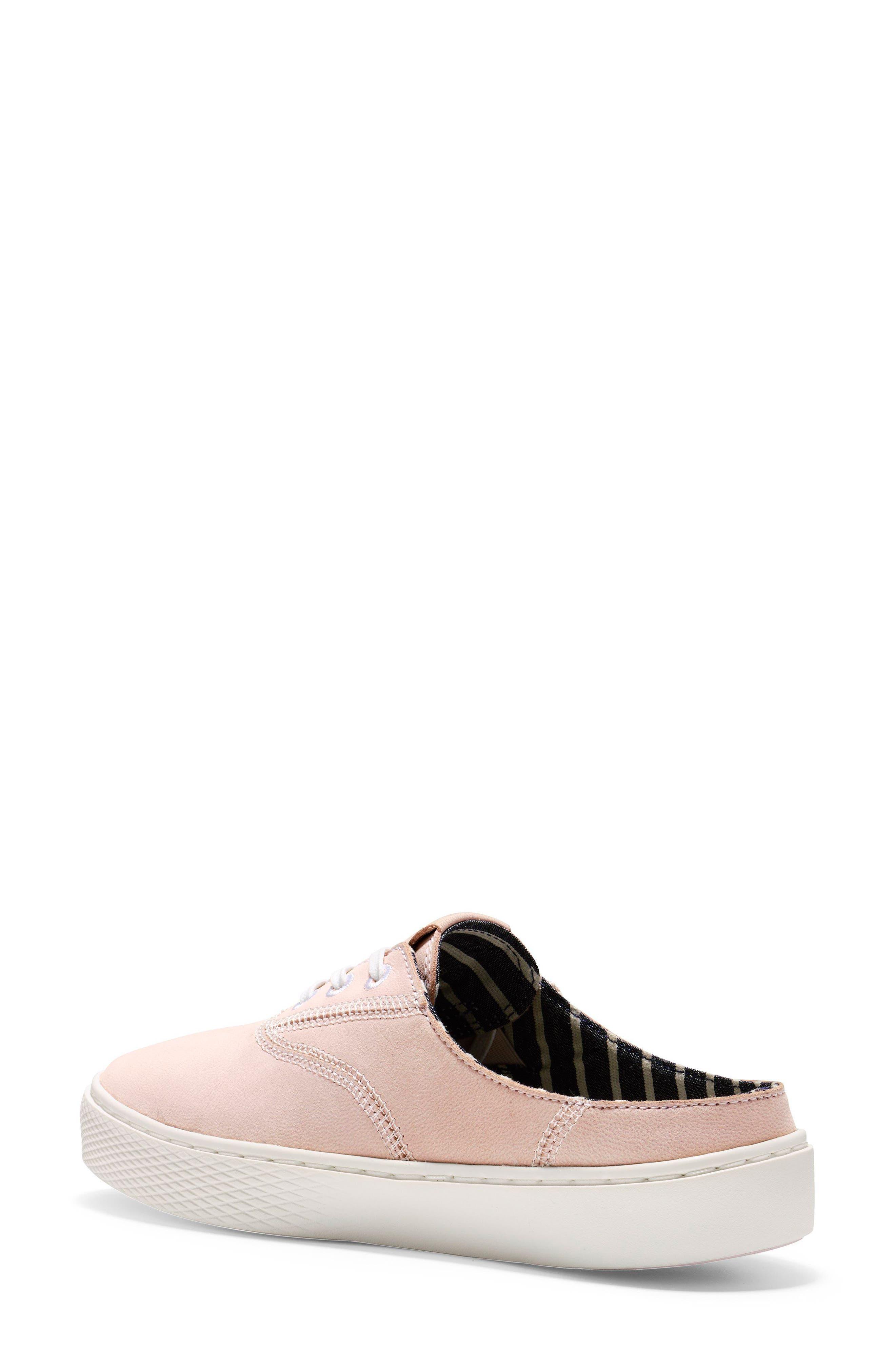 GrandPro Deck Sneaker,                             Alternate thumbnail 2, color,                             PETAL/ OPTIC WHITE NUBUCK