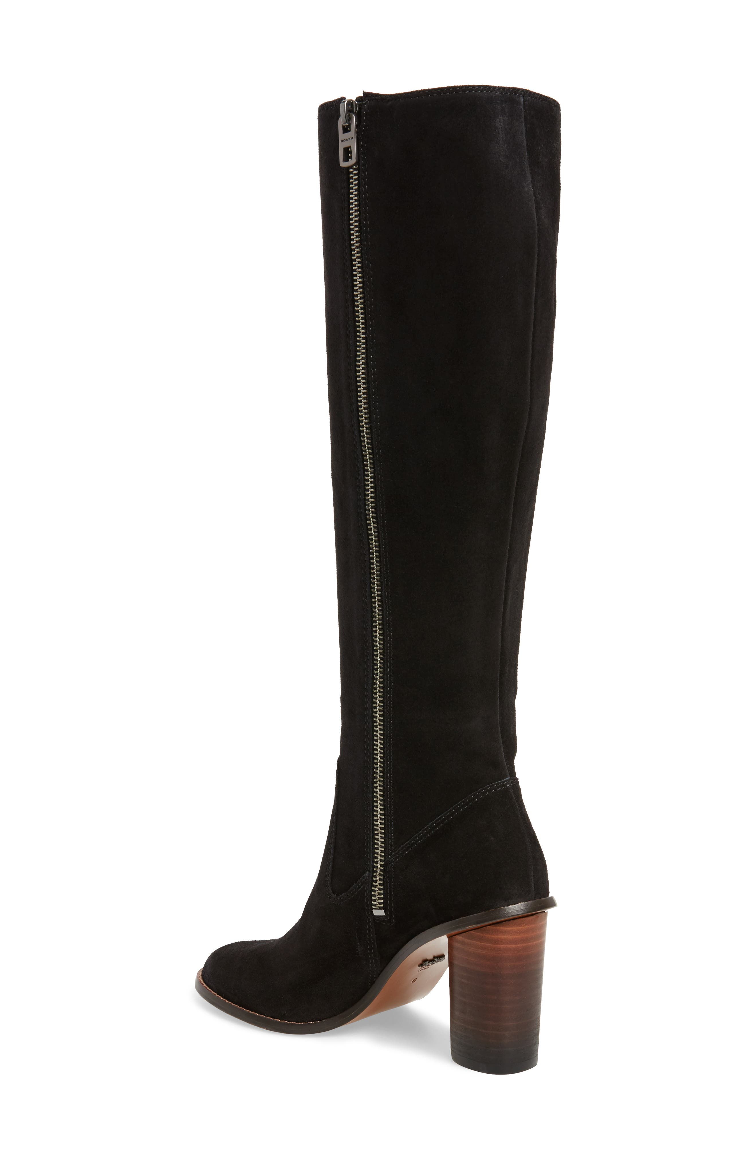 Ombré Knee High Boot,                             Alternate thumbnail 2, color,                             001