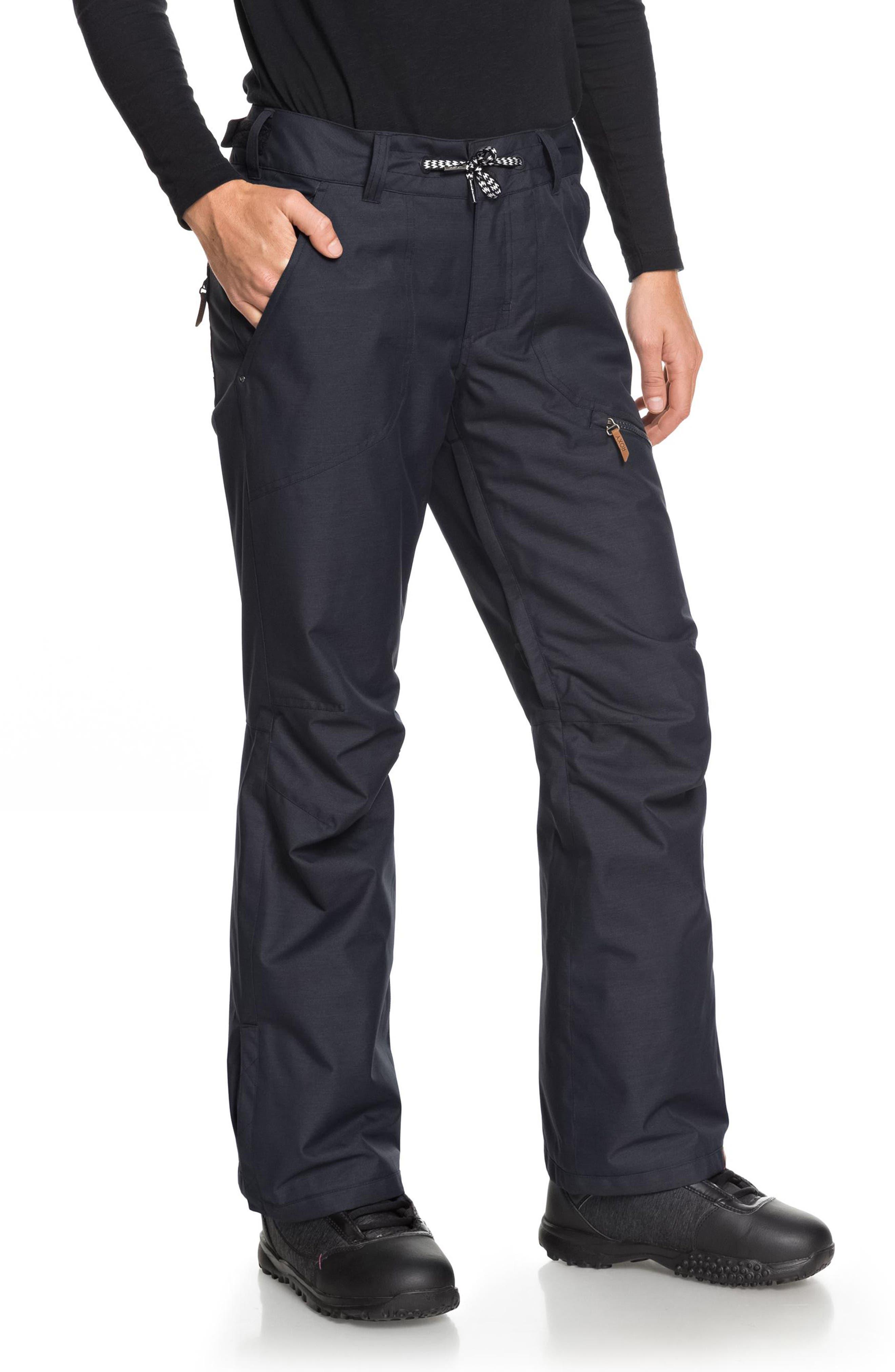 Nadia Waterproof DryFlight<sup>®</sup> WarmFlight<sup>®</sup> Insulated Snow Pants,                             Alternate thumbnail 3, color,                             002