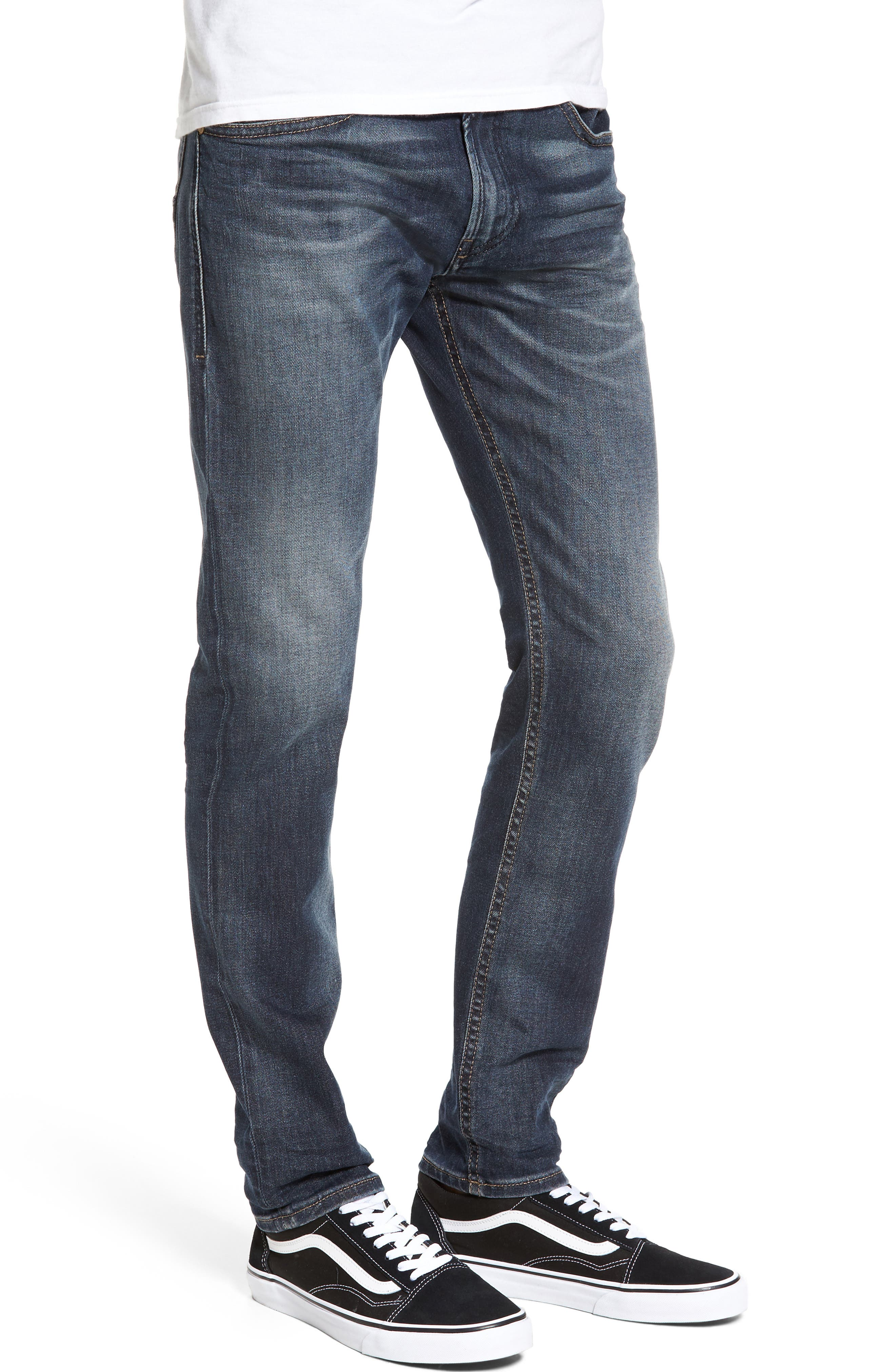 Thommer Slim Fit Jeans,                             Alternate thumbnail 3, color,                             400