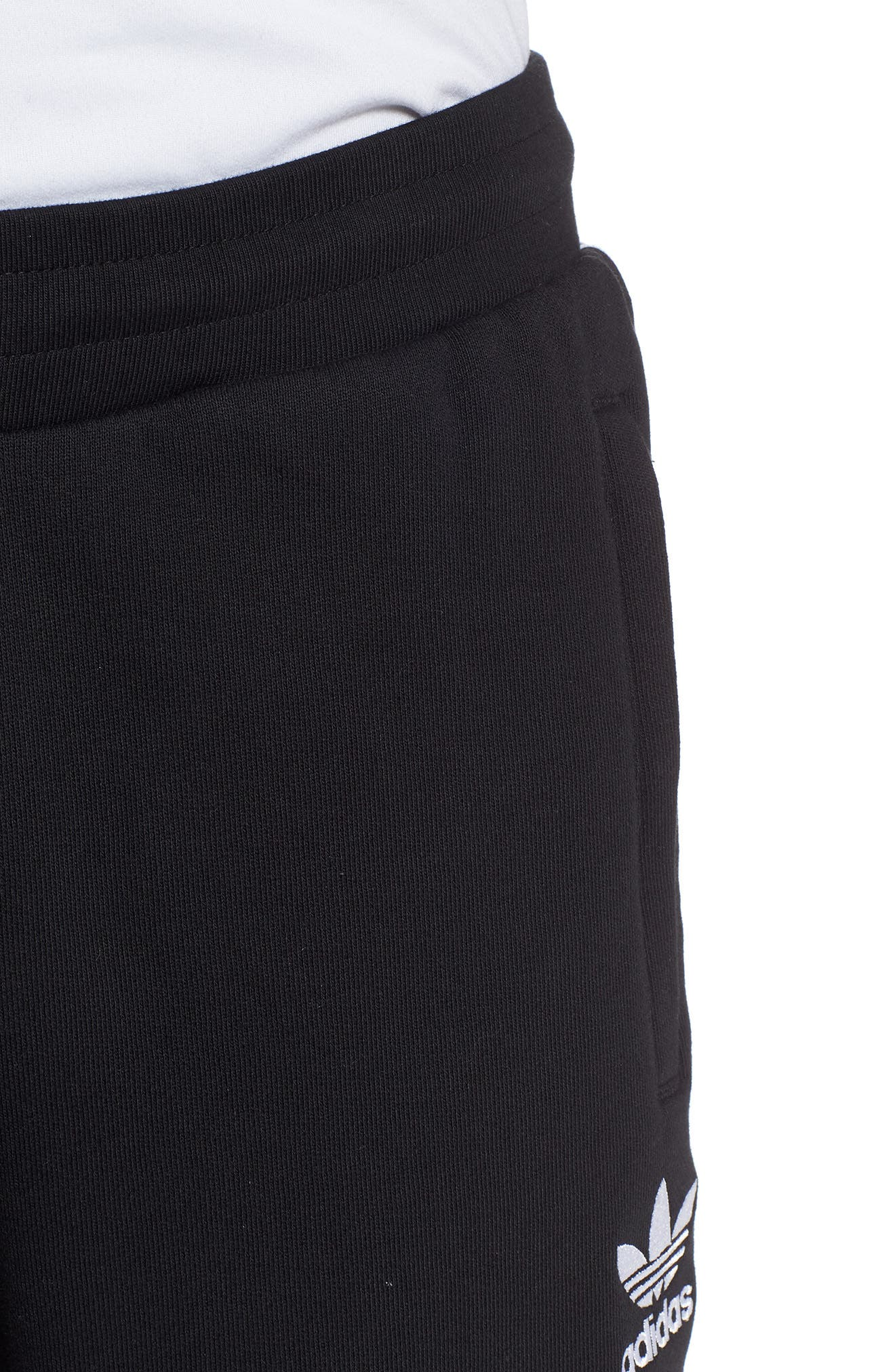 Adicolor Track Pants,                             Alternate thumbnail 4, color,                             BLACK