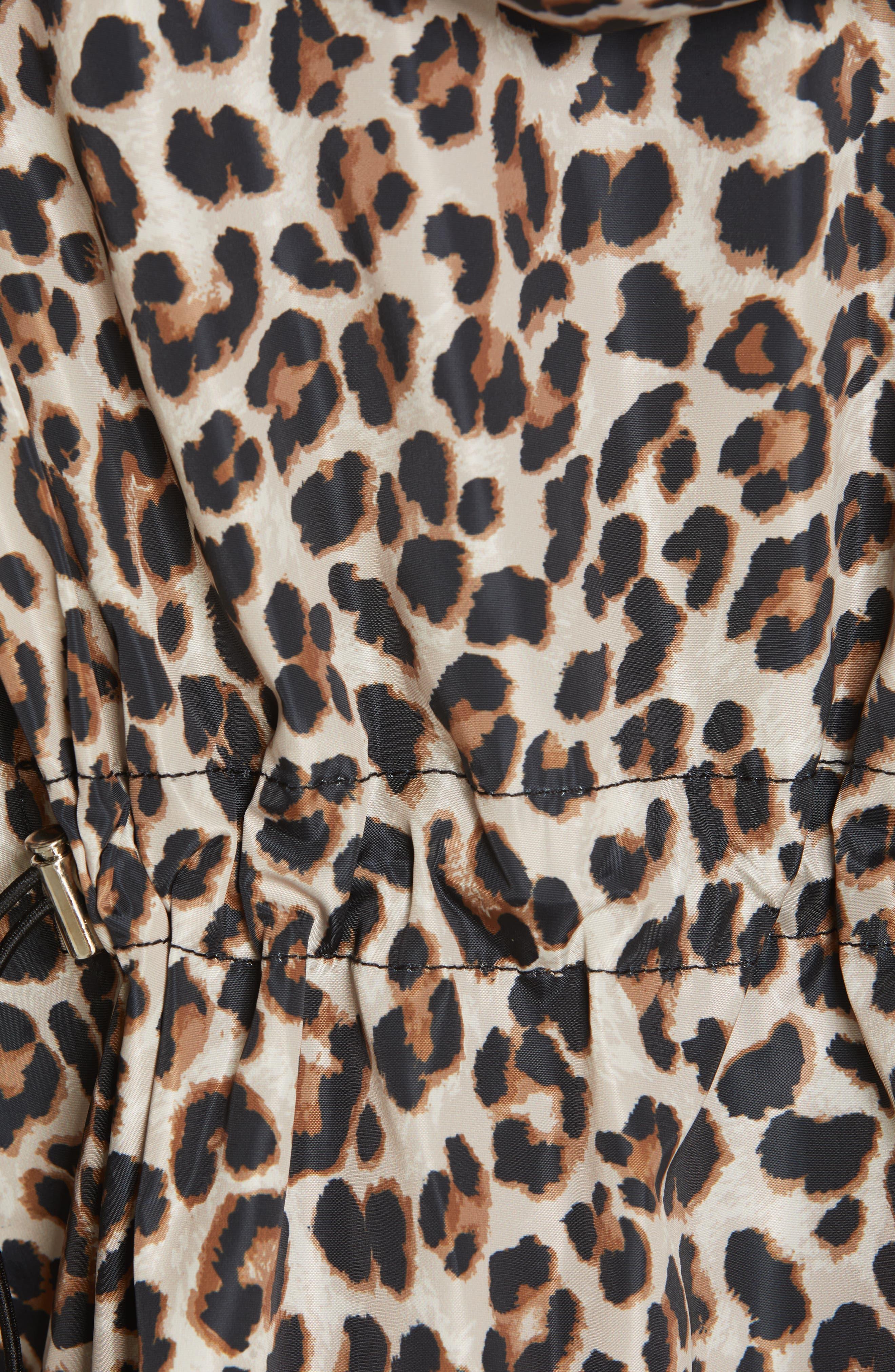 Sibila Leopard Print Jacket,                             Alternate thumbnail 6, color,                             200