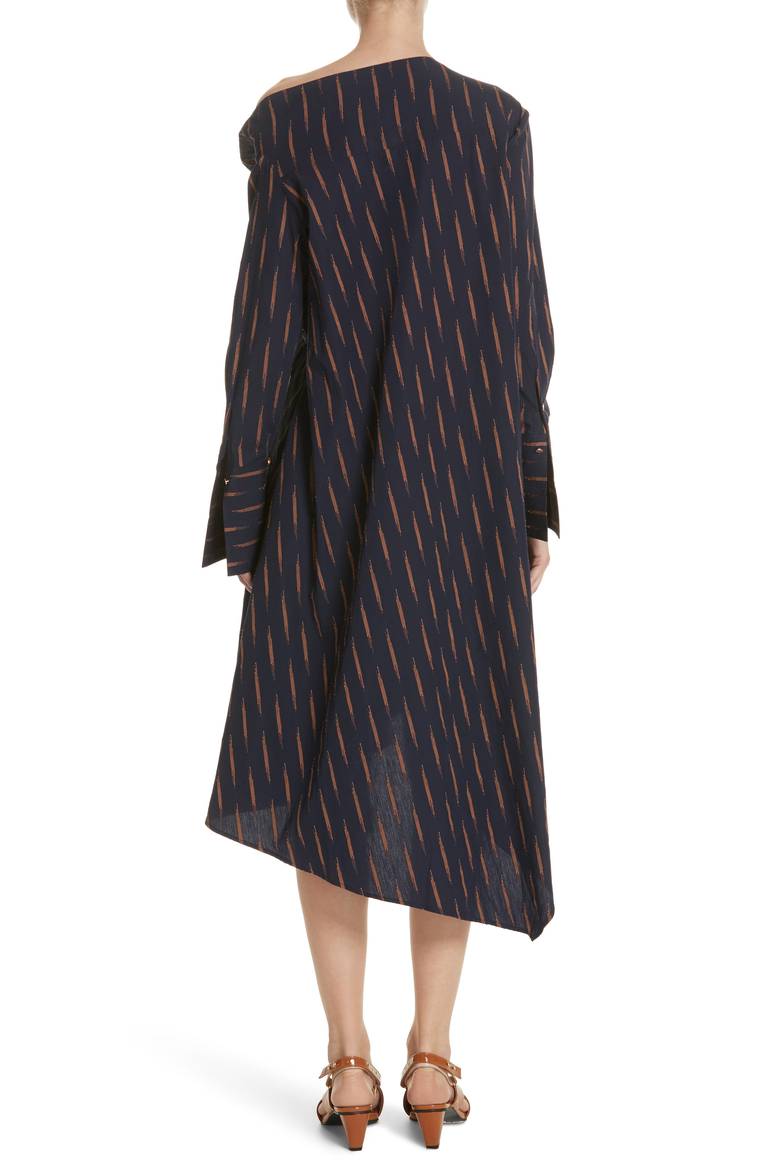 Gallery One-Shoulder Dress,                             Alternate thumbnail 2, color,                             400