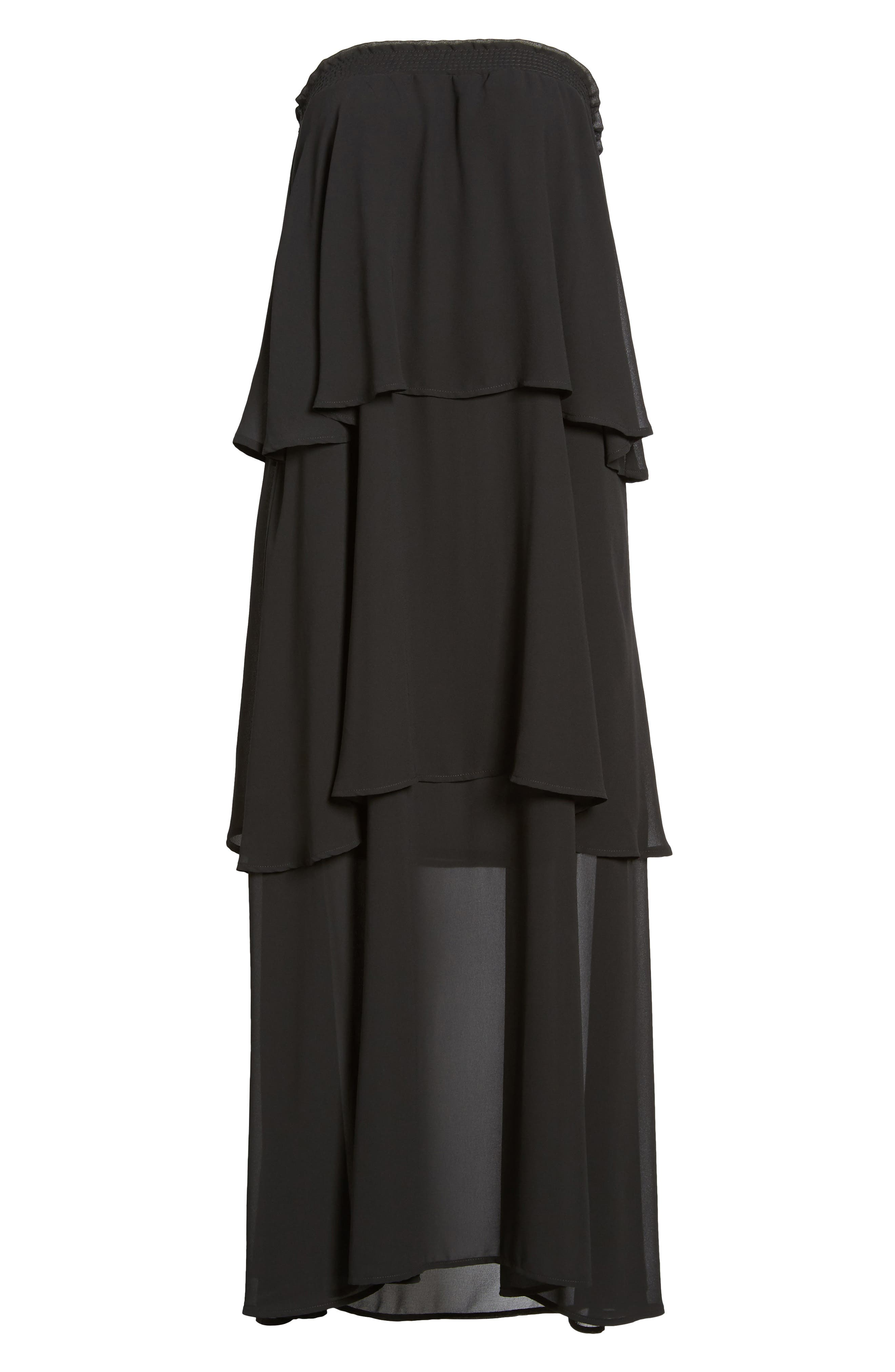 Karla Convertible Strapless Dress,                             Alternate thumbnail 16, color,