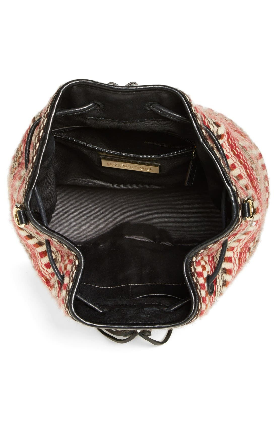 'Cynnie' Sling Backpack,                             Alternate thumbnail 4, color,                             610