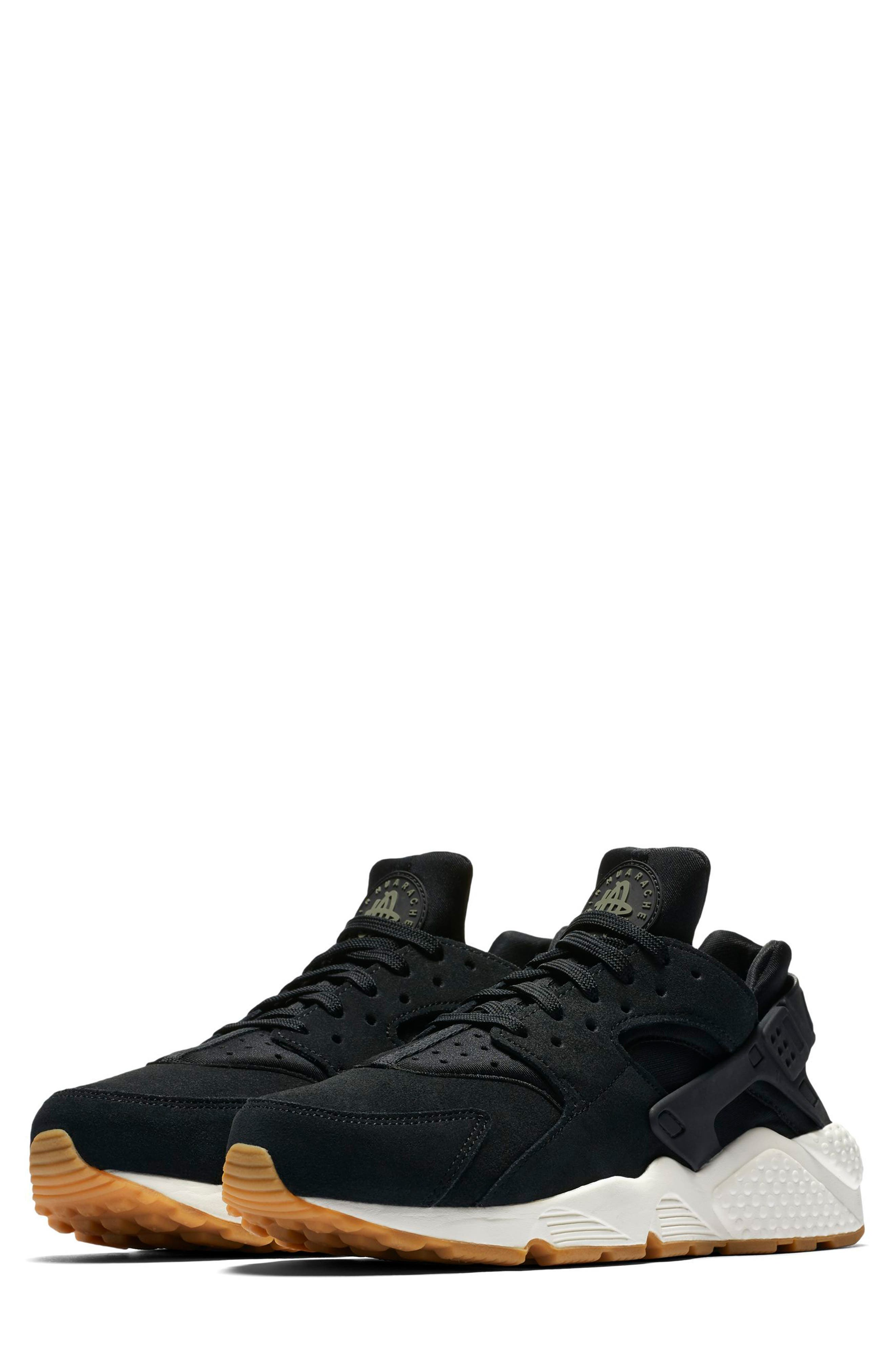 Air Huarache Run SD Sneaker,                             Main thumbnail 1, color,                             001