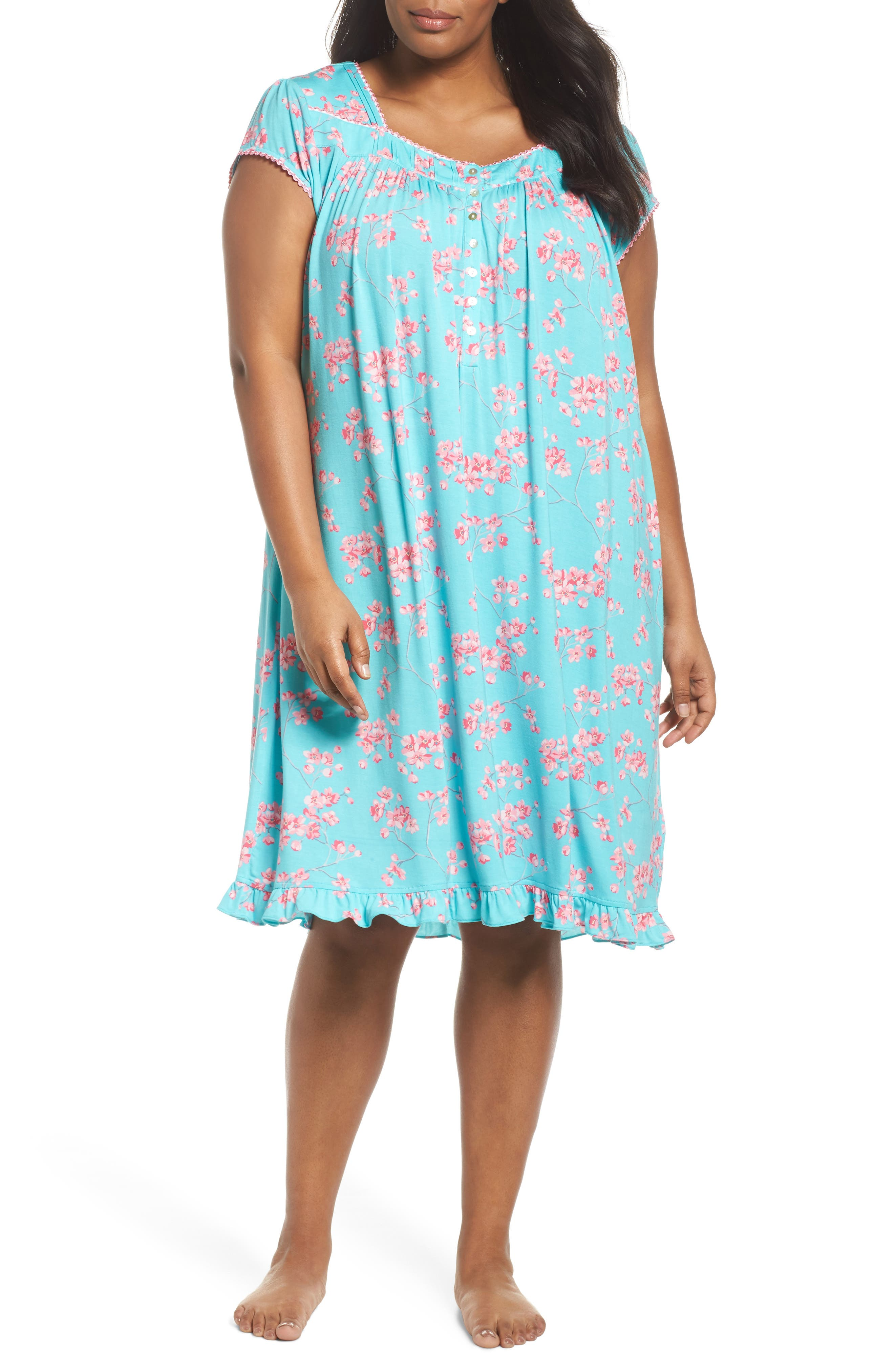 Jersey Waltz Nightgown,                         Main,                         color,