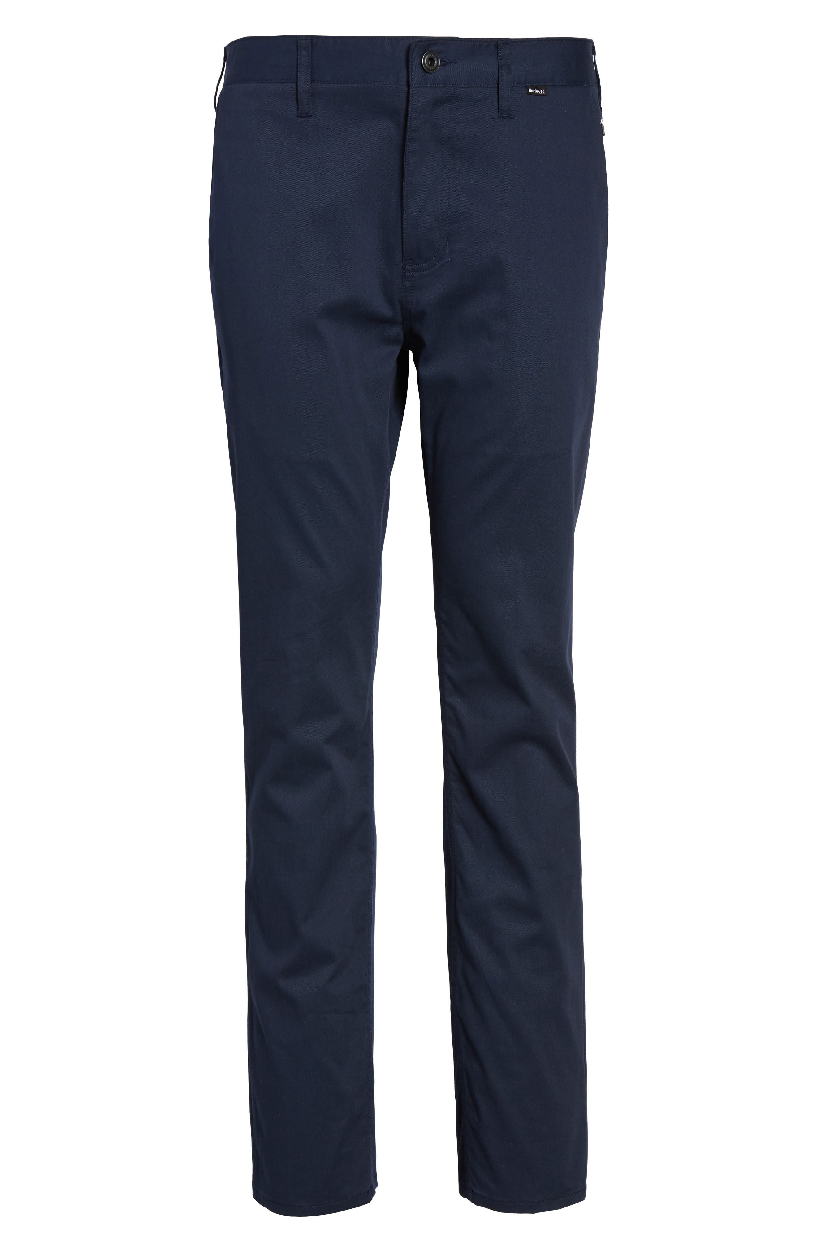 Dri-FIT Chinos,                             Alternate thumbnail 6, color,                             OBSIDIAN