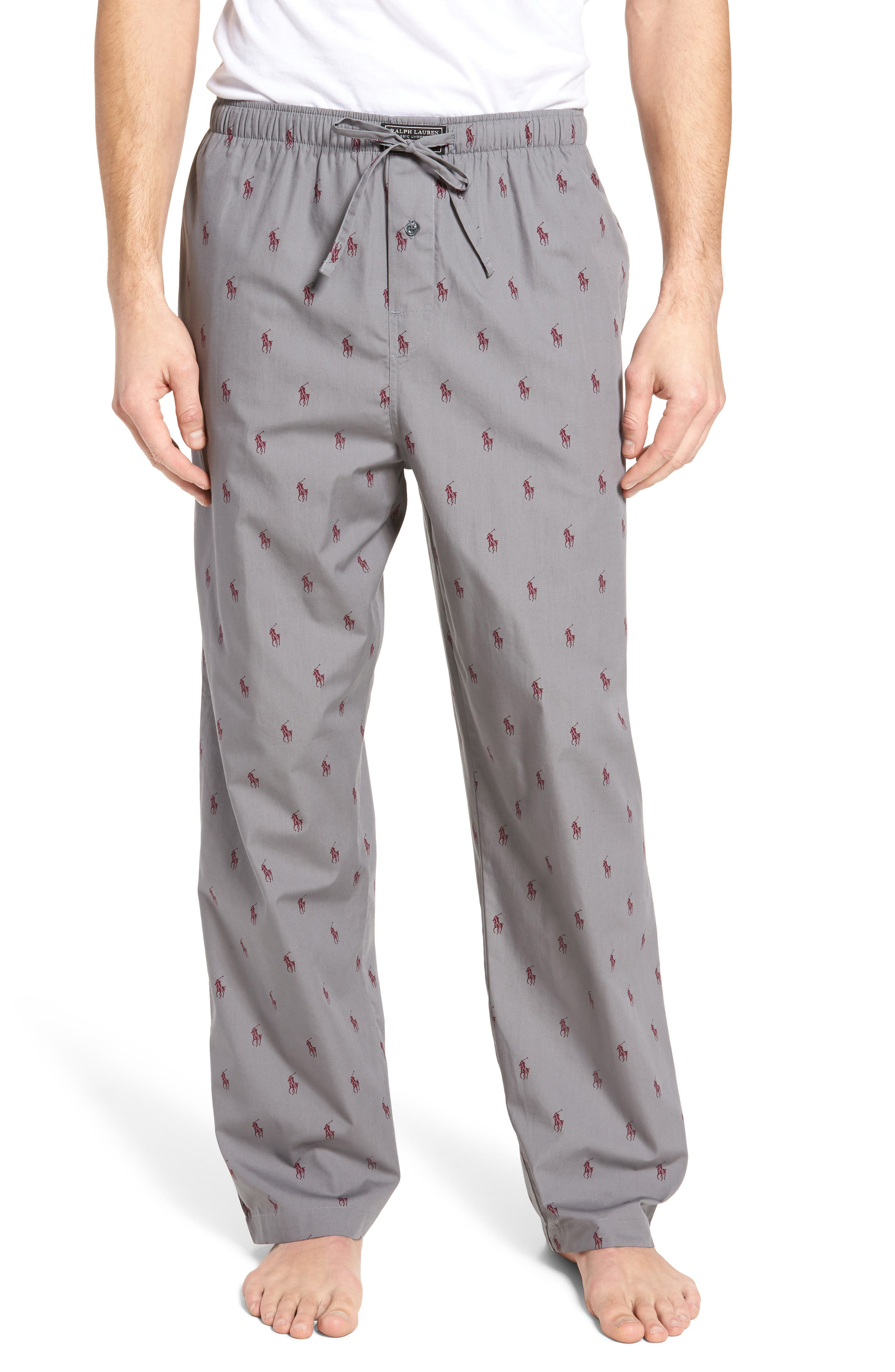 Polo Ralph Lauren Cotton Lounge Pants,                             Main thumbnail 1, color,