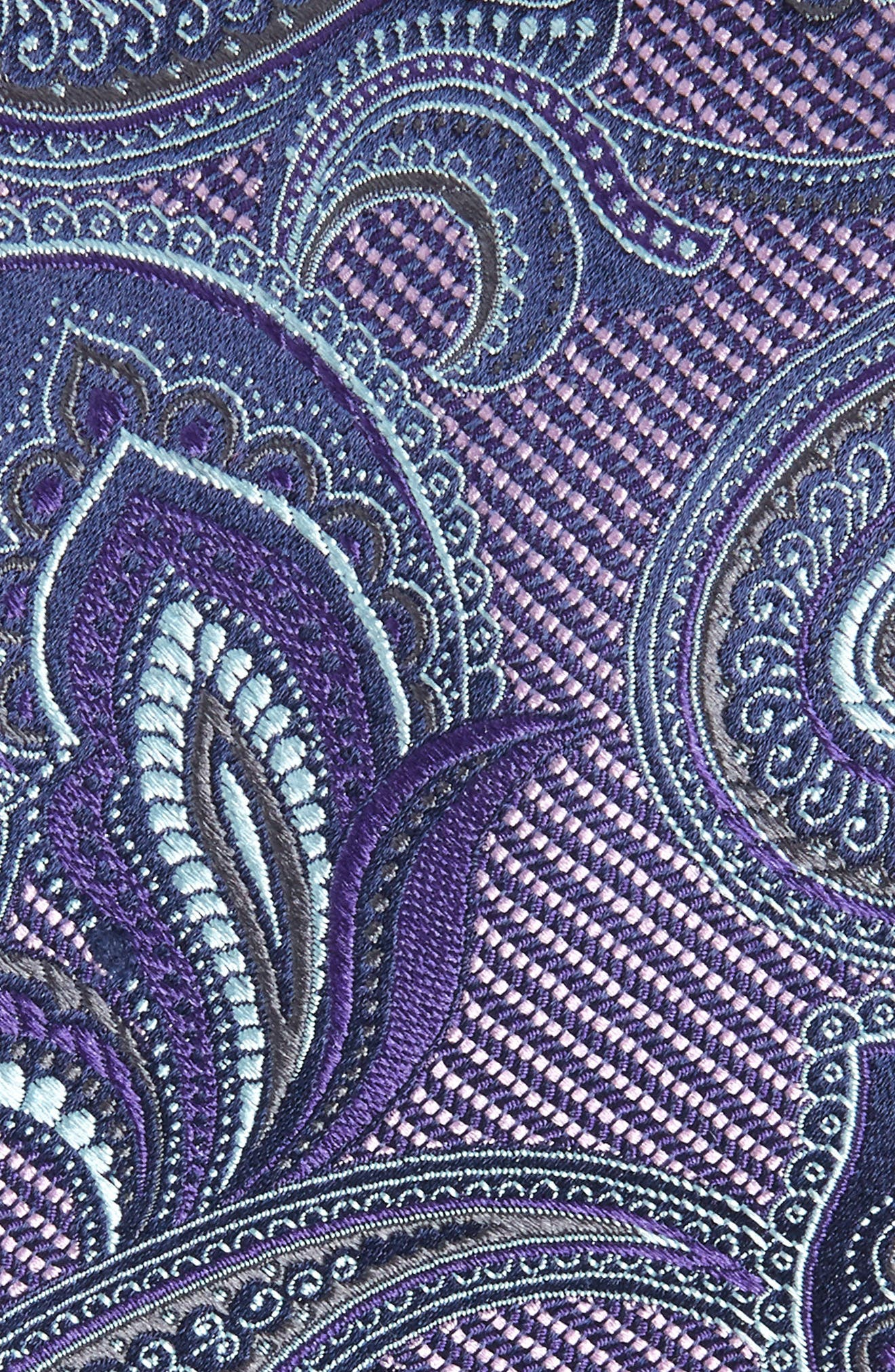 Palisades Paisley Silk Tie,                             Alternate thumbnail 2, color,                             515