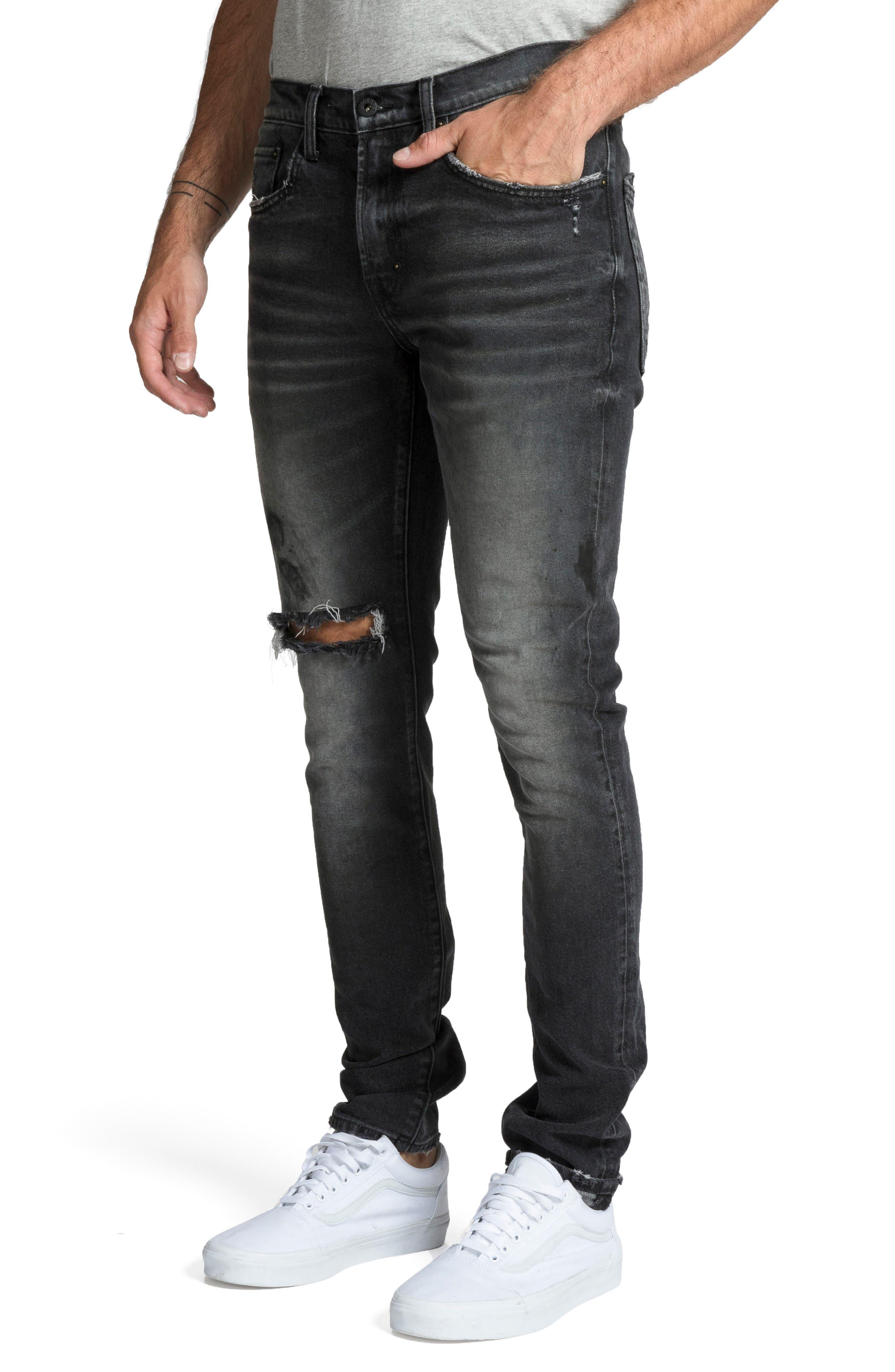 Windsor Skinny Fit Jeans,                             Alternate thumbnail 3, color,                             RESOLUTE