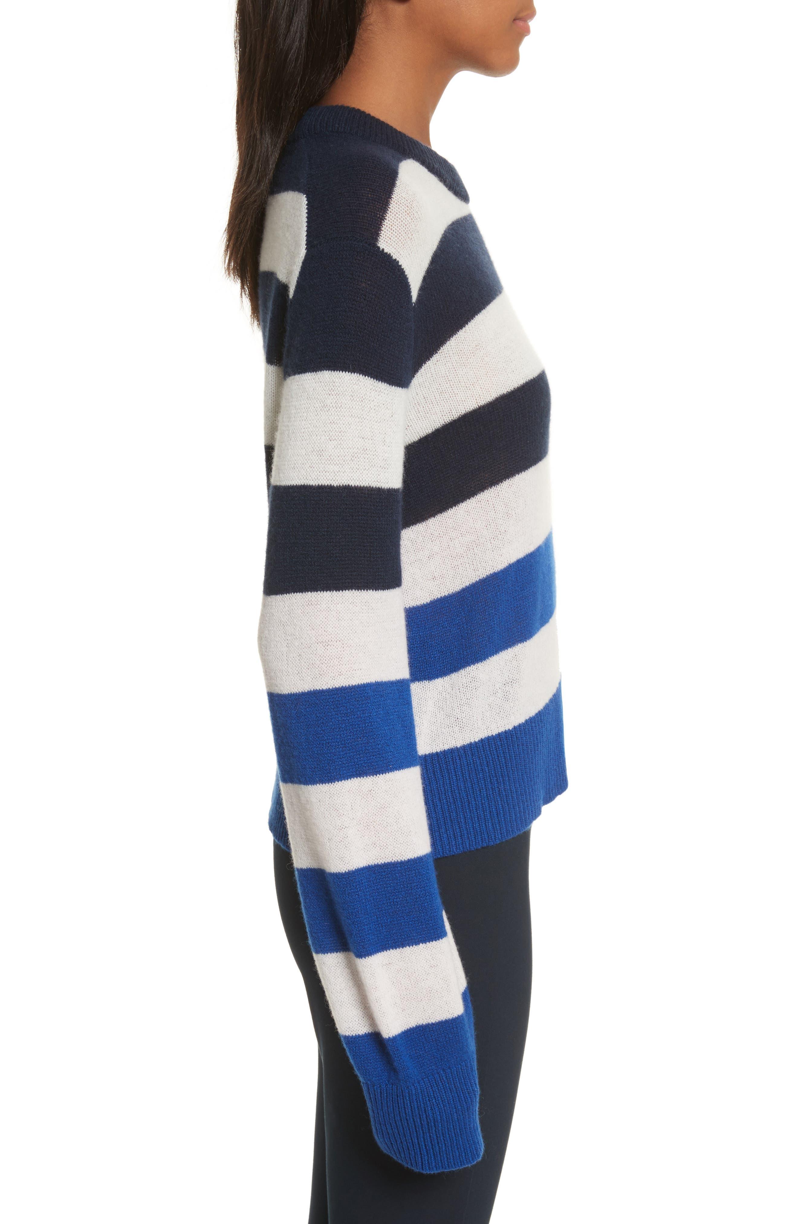 Annika Cashmere Sweater,                             Alternate thumbnail 3, color,                             400