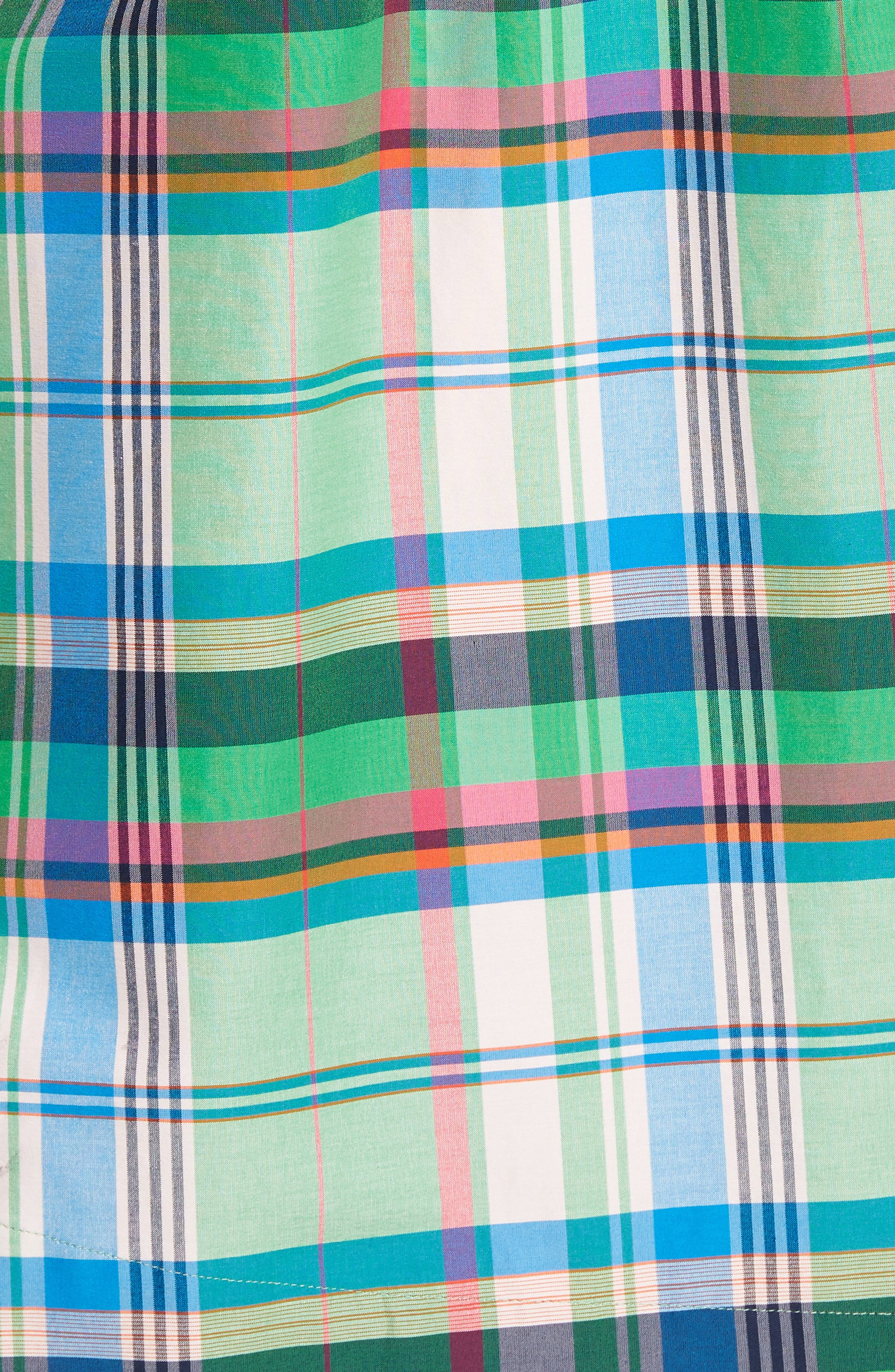 Sleeveless Shirtdress,                             Alternate thumbnail 18, color,