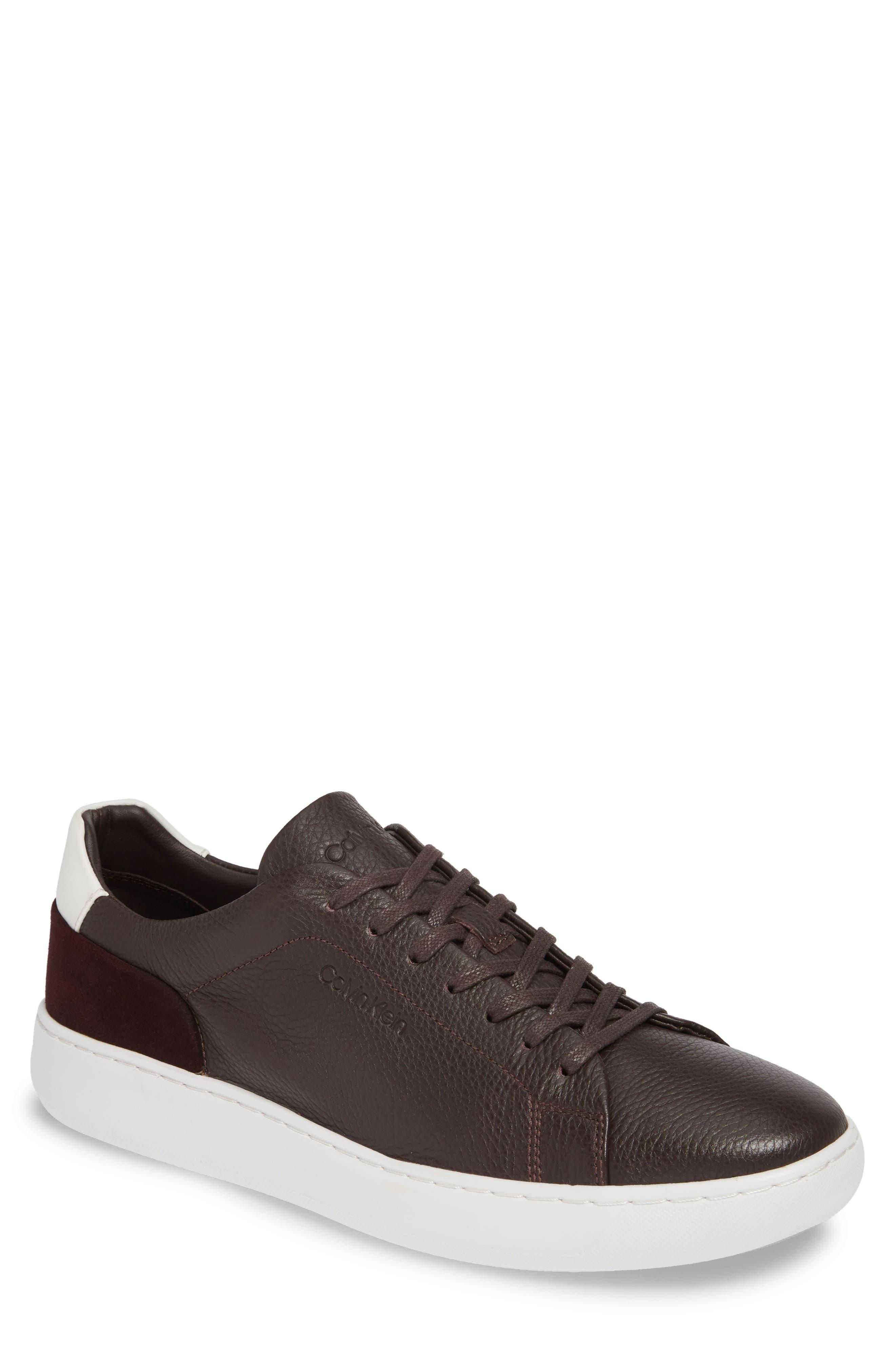 Calvin Klein Fuego Sneaker, Burgundy