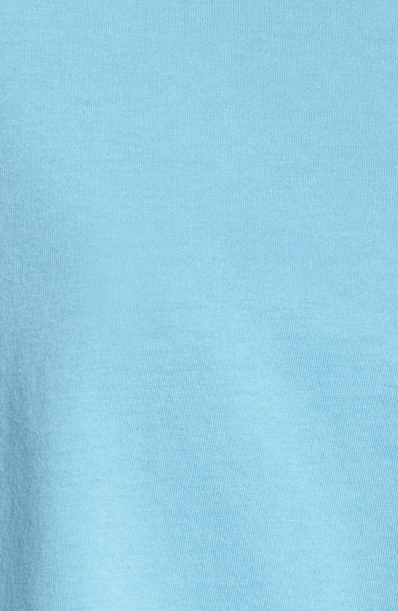 Pocket Tee,                             Alternate thumbnail 5, color,                             POWDER BLUE