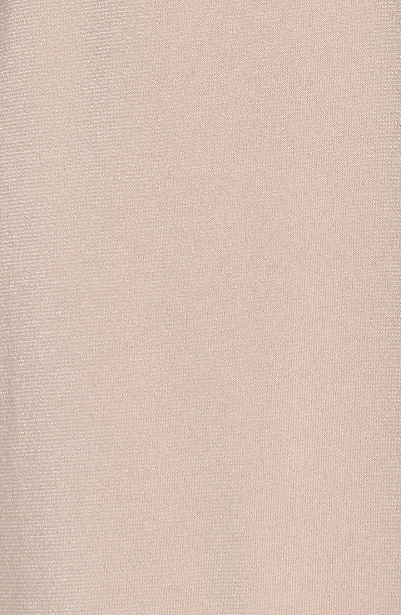 Celina Mock Wrap Gown,                             Alternate thumbnail 5, color,                             253
