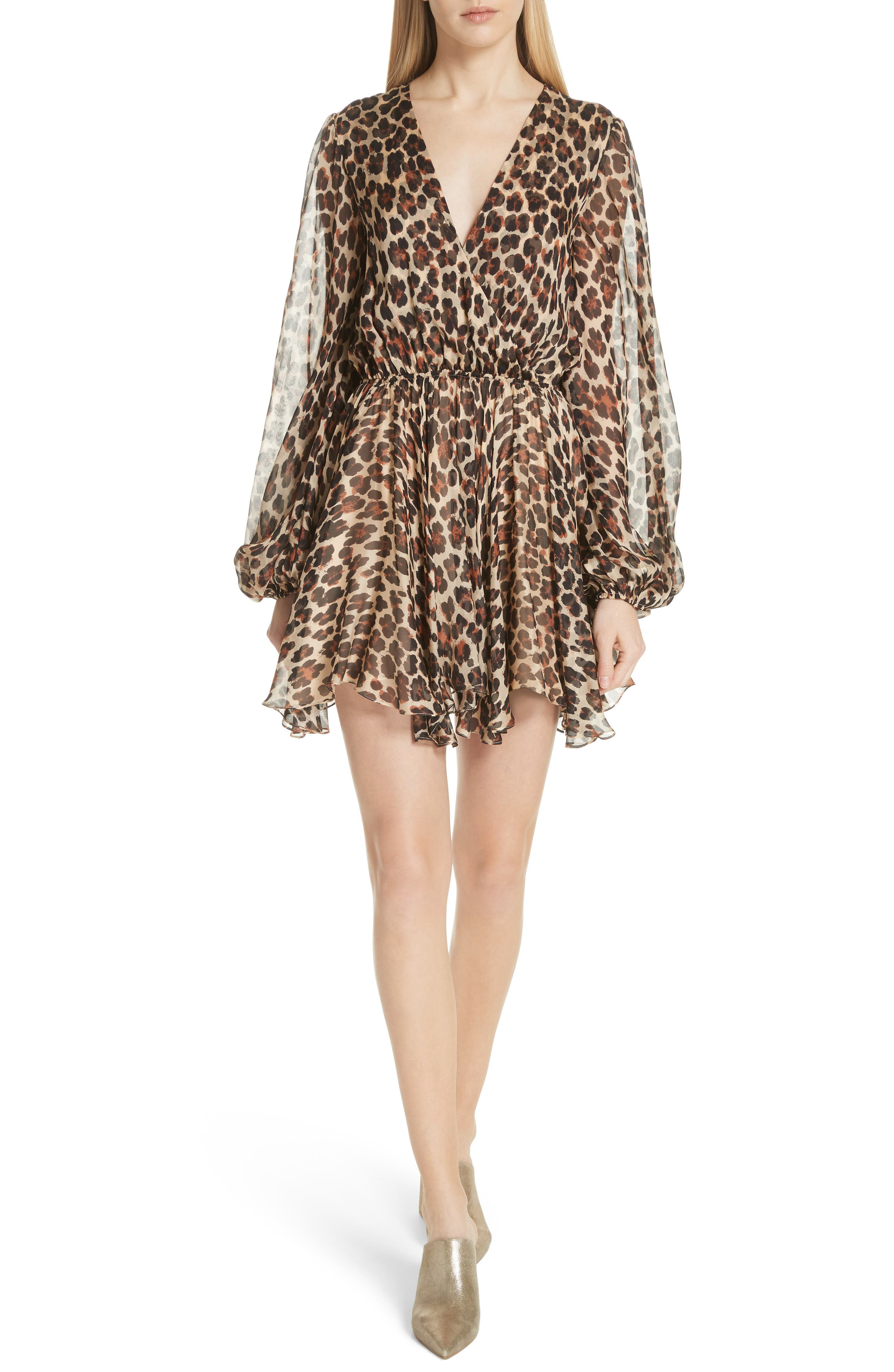 Olena Silk Dress, Main, color, 202