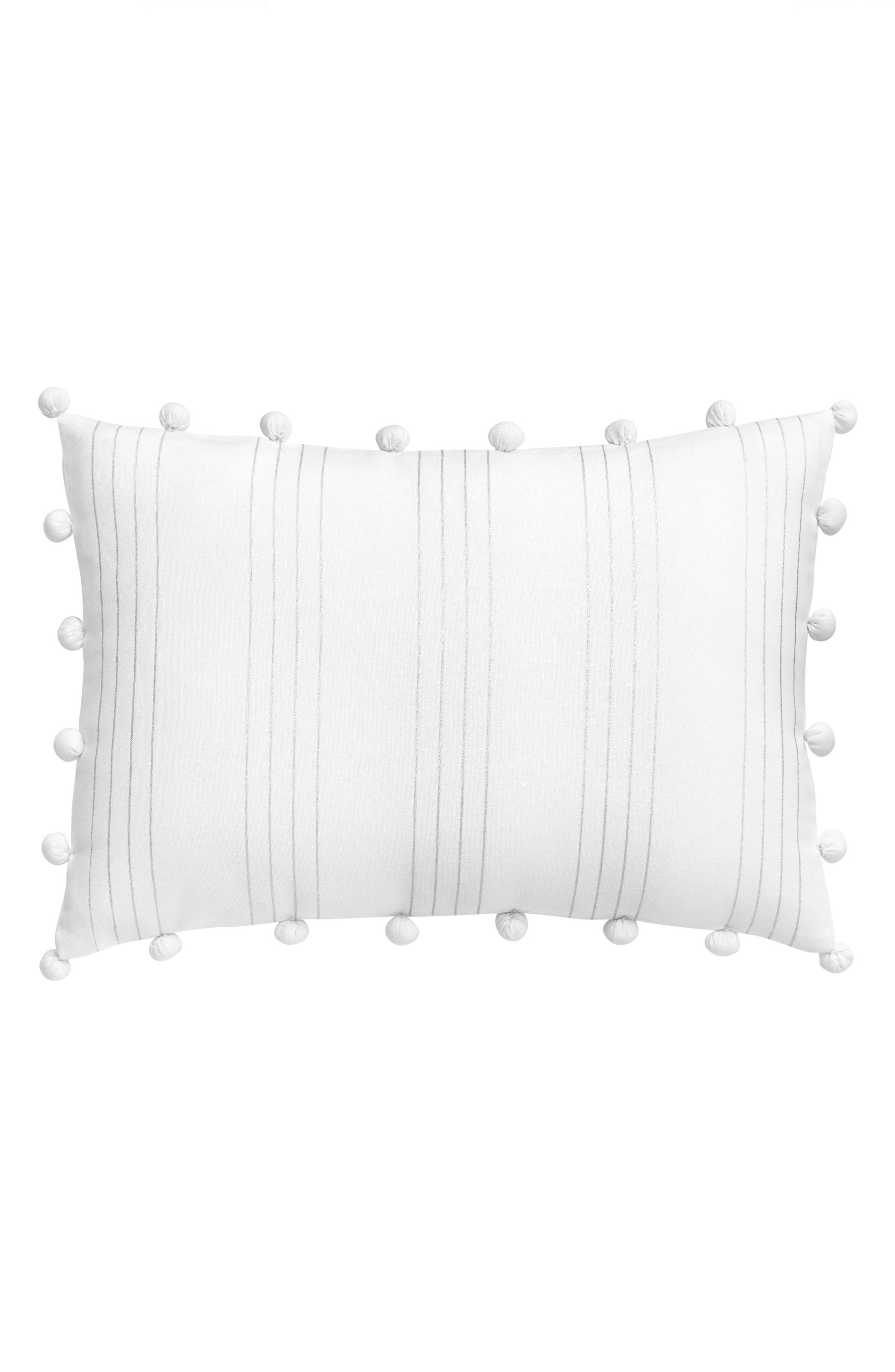 Capri Stripe Pillow,                             Main thumbnail 1, color,                             100