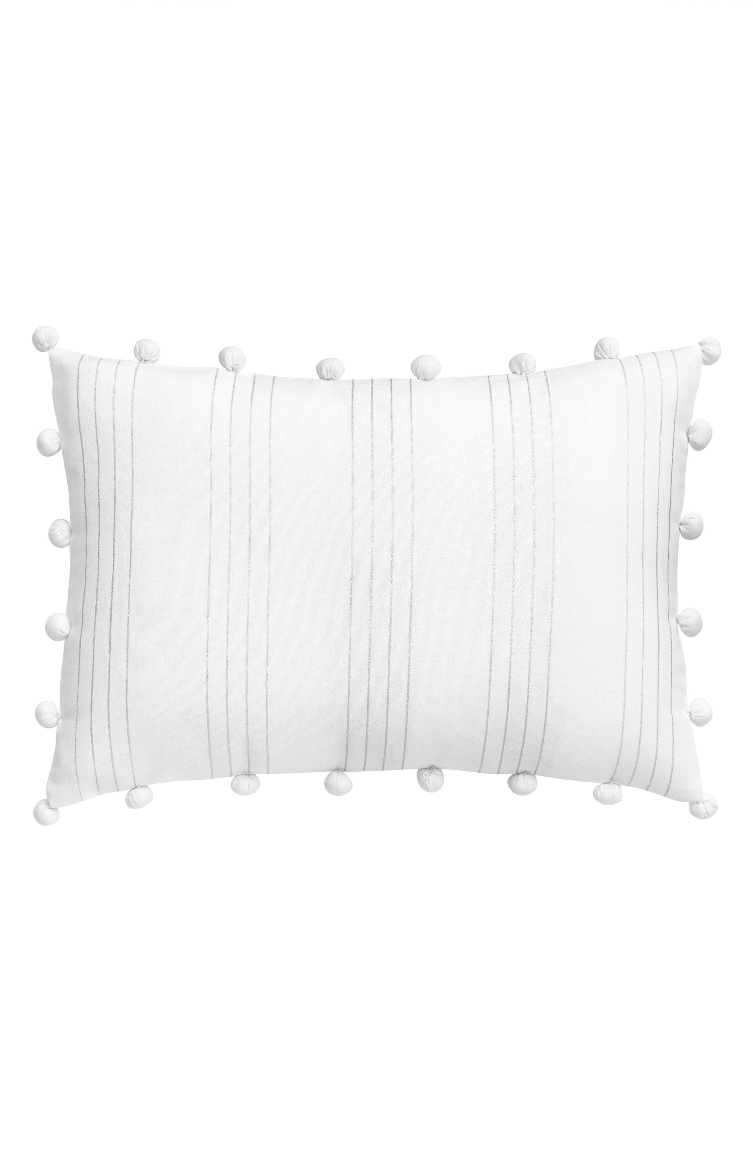 Capri Stripe Pillow,                         Main,                         color, 100