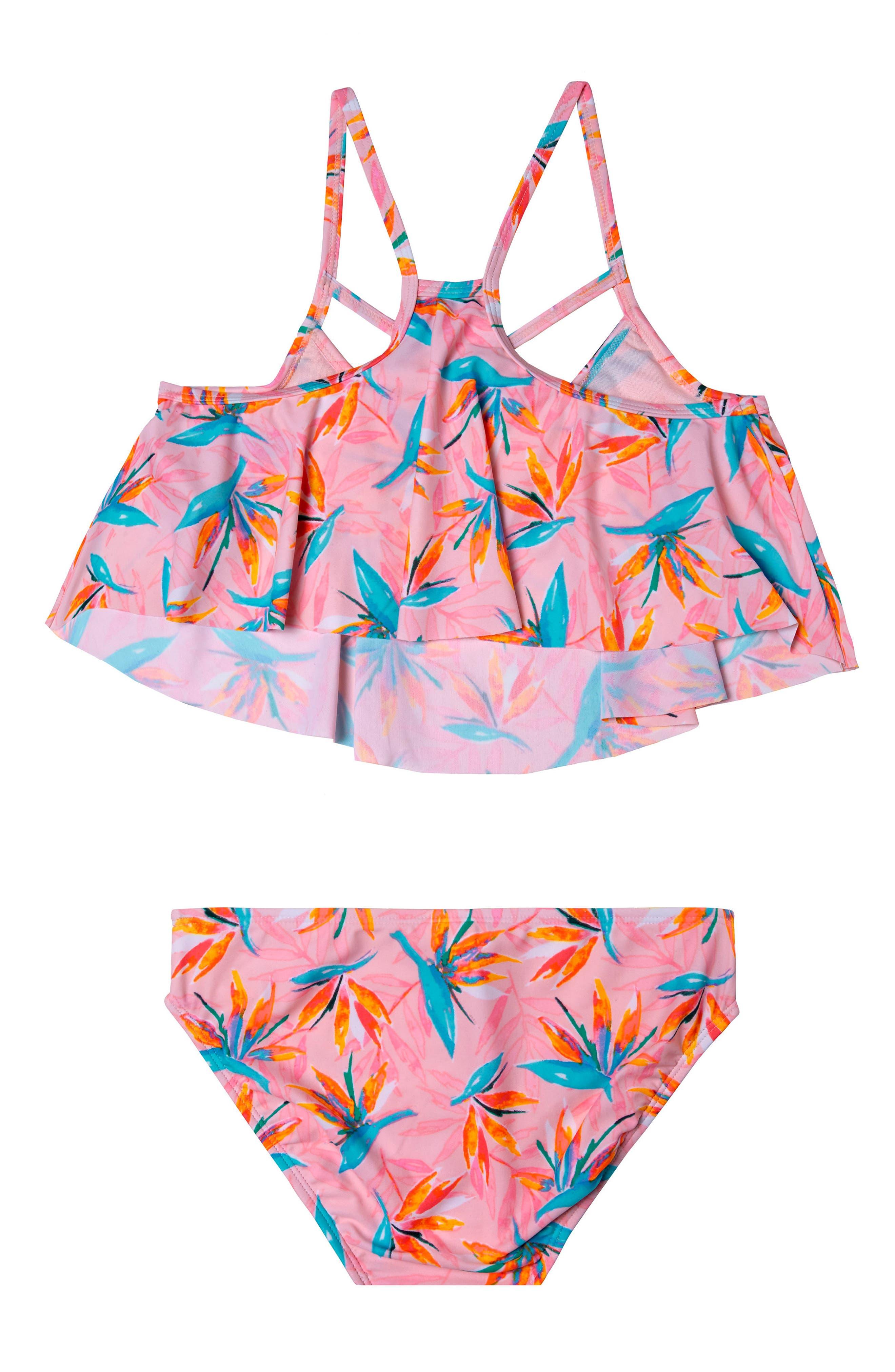 Paradise Haven Two-Piece Swimsuit,                             Alternate thumbnail 2, color,                             PINK