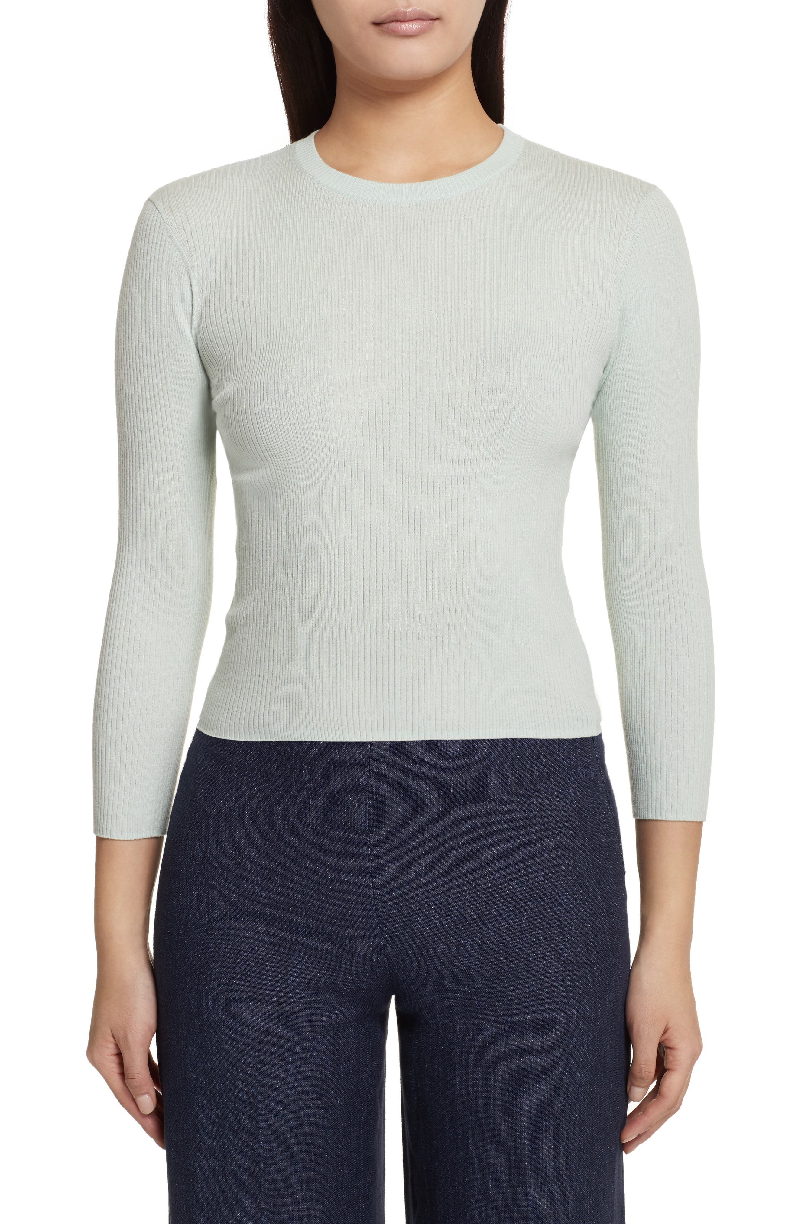 Merino Wool Blend Sweater,                             Main thumbnail 2, color,
