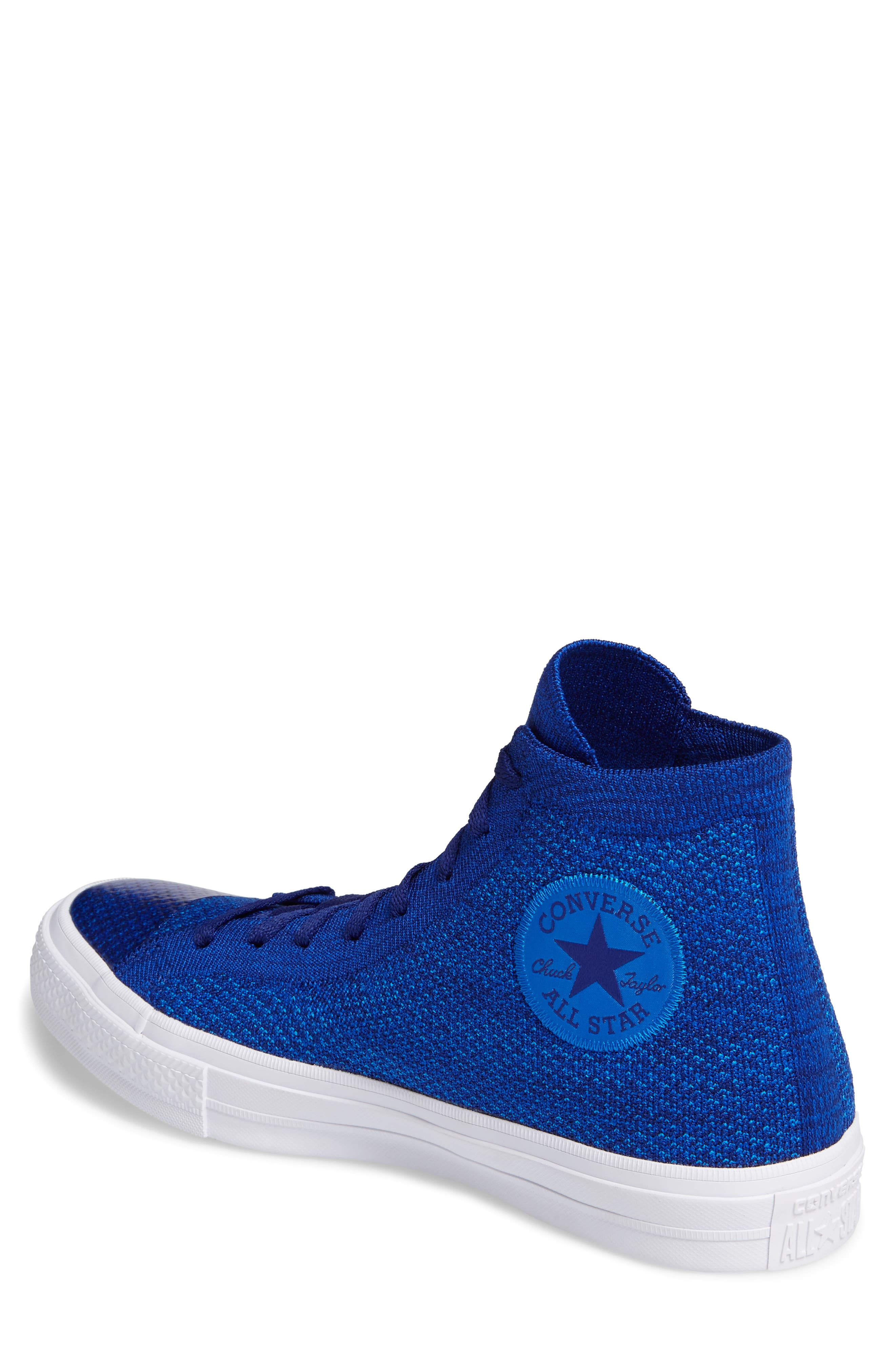 Chuck Taylor<sup>®</sup> All Star<sup>®</sup> Flyknit Hi Sneaker,                             Alternate thumbnail 11, color,