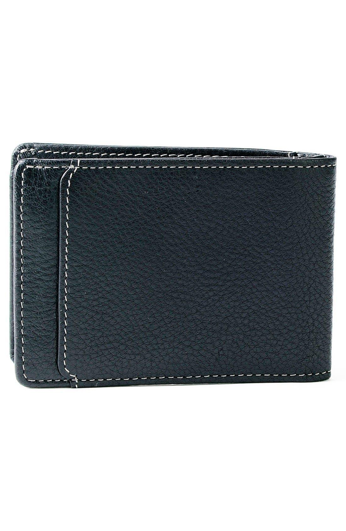 'Tyler' RFID Slimster Wallet,                             Alternate thumbnail 3, color,                             BLACK