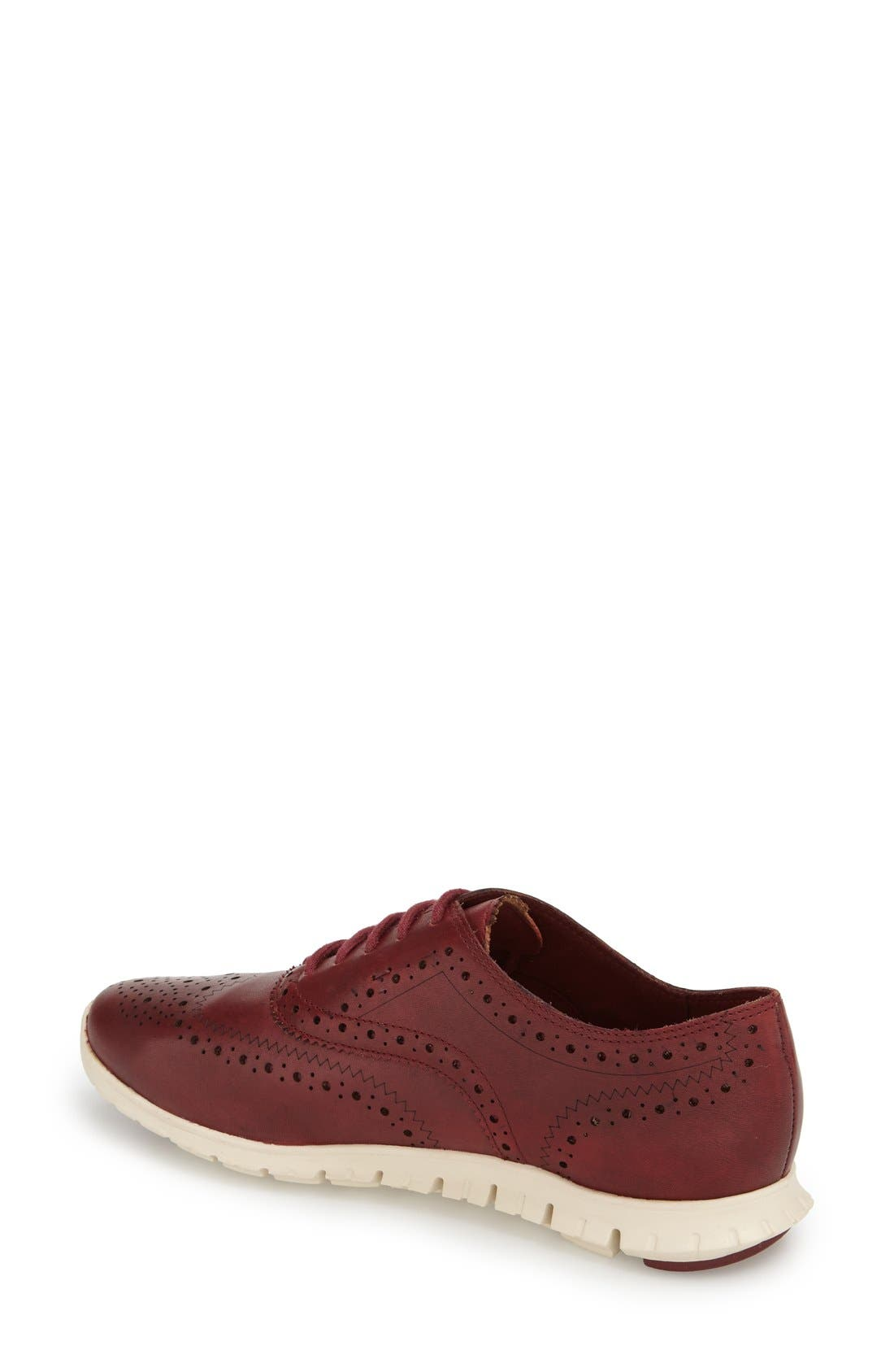 'ZeroGrand' Perforated Wingtip,                             Alternate thumbnail 55, color,