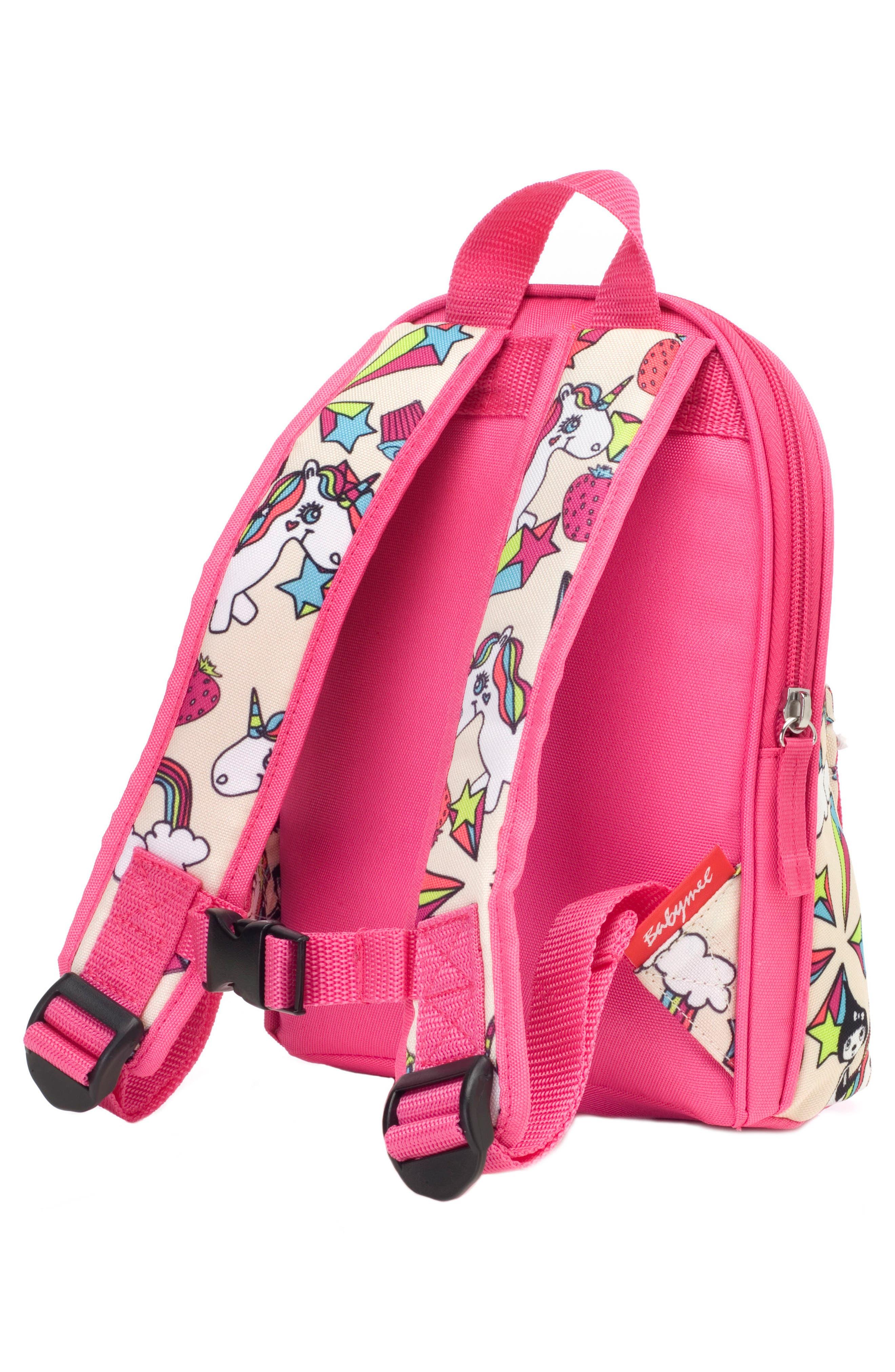 BABYMEL,                             Zip & Zoe Unicorn Mini Backpack,                             Alternate thumbnail 2, color,                             UNICORN