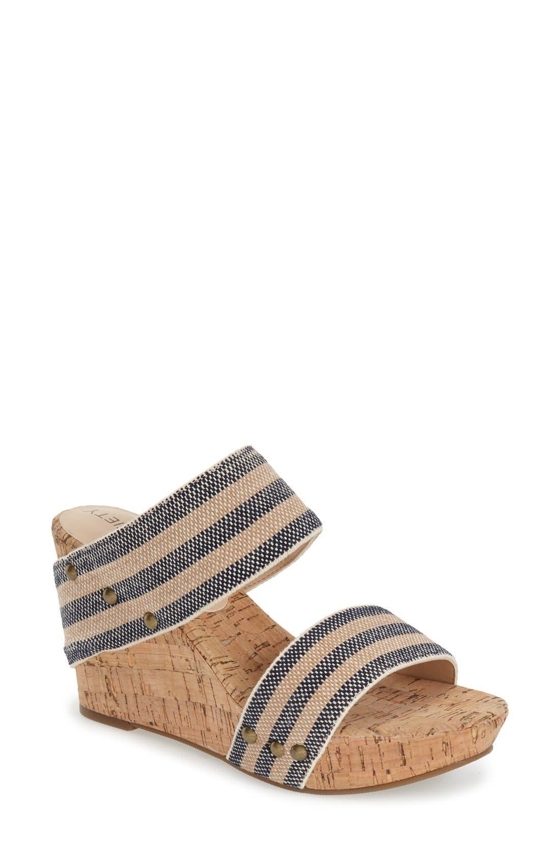 'Emilia 2' Wedge Sandal,                             Main thumbnail 2, color,
