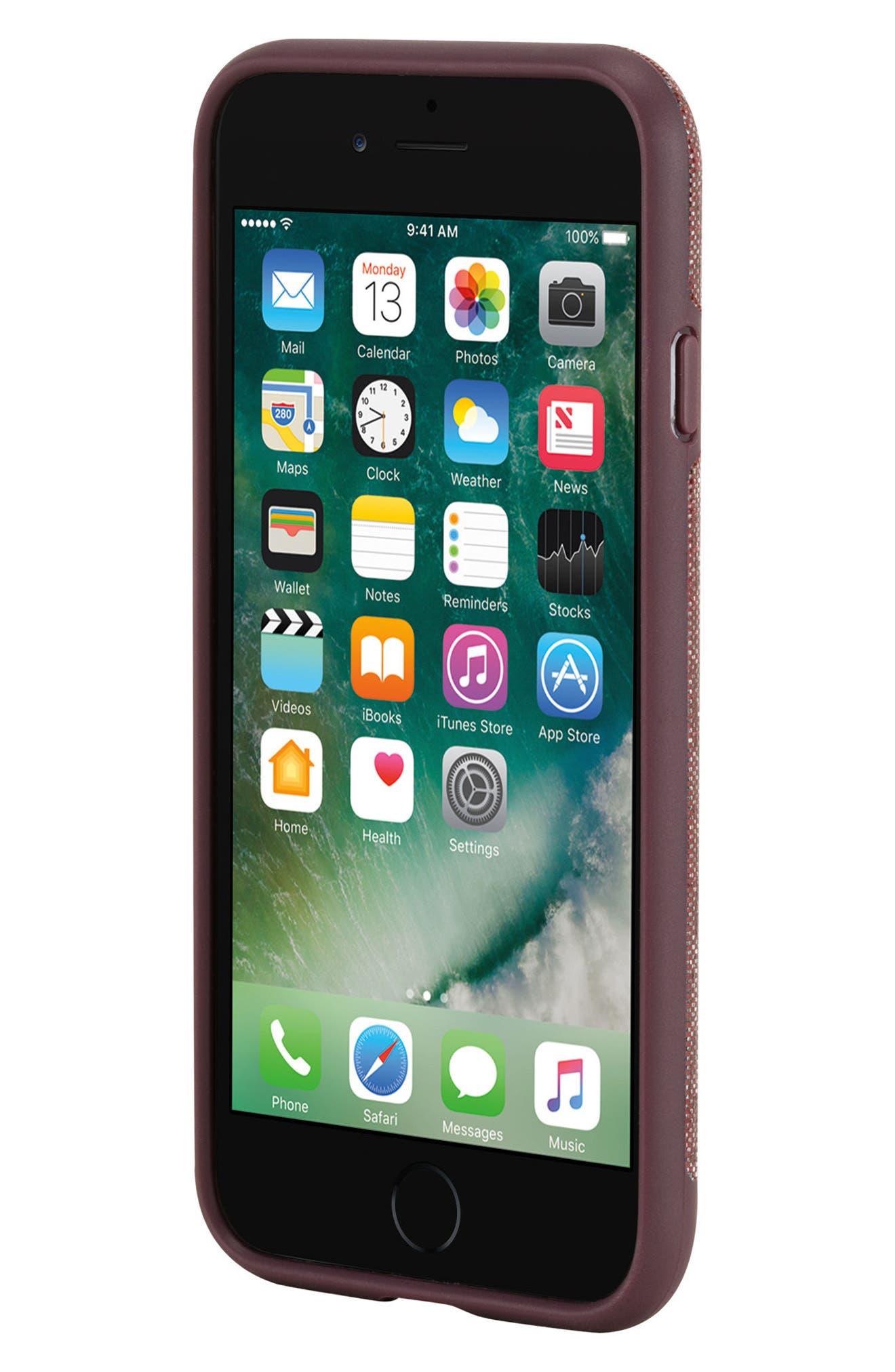 INCASE DESIGNS,                             Textured Snap iPhone 7 & iPhone 8 Case,                             Alternate thumbnail 7, color,                             001