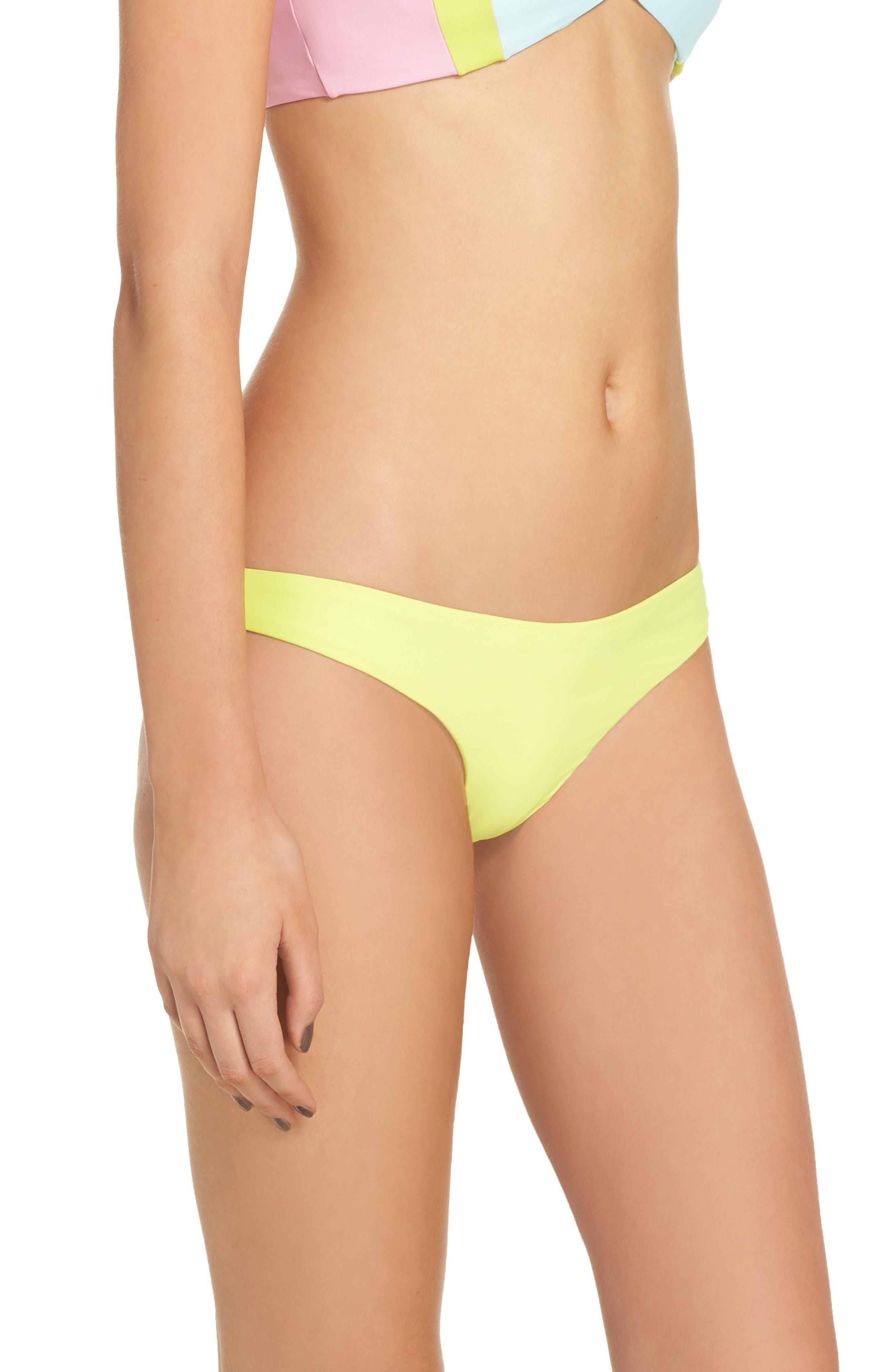 Ruched Bikini Bottoms,                             Alternate thumbnail 3, color,                             700